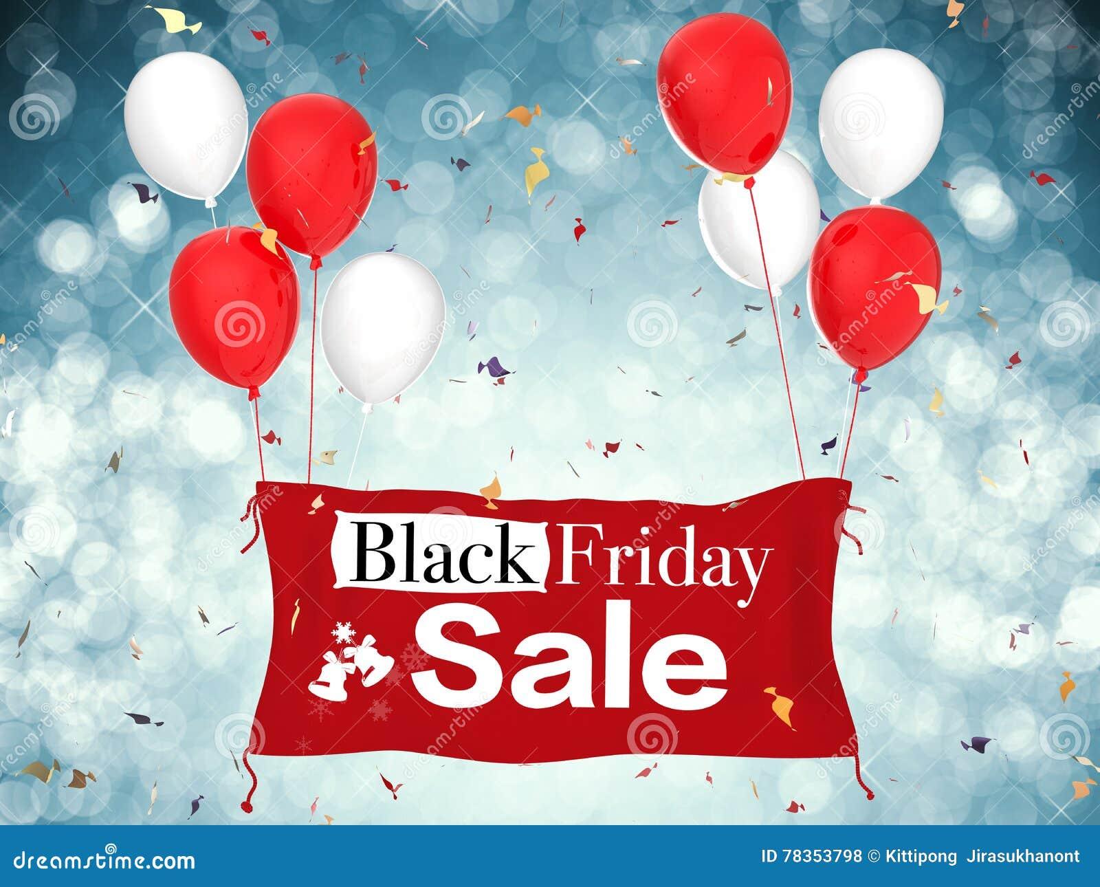 De zwarte Verkoop van de Vrijdag