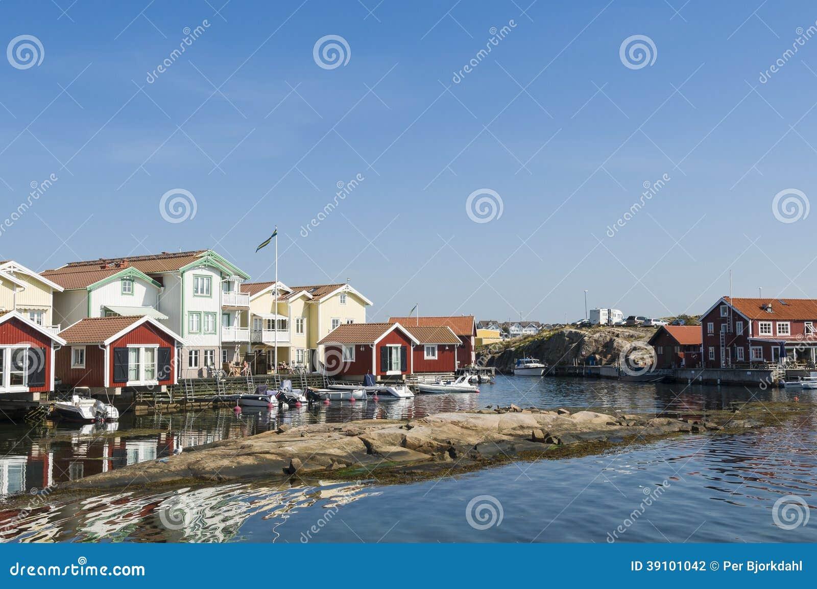 De Zweedse westkust van vakantiehuizen