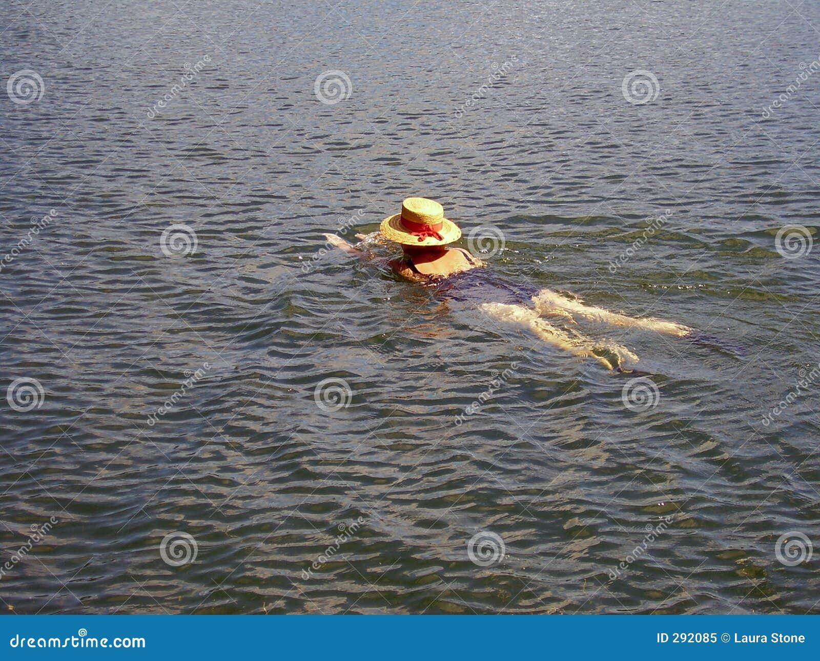 De Zwemmer van de Hoed van Staw
