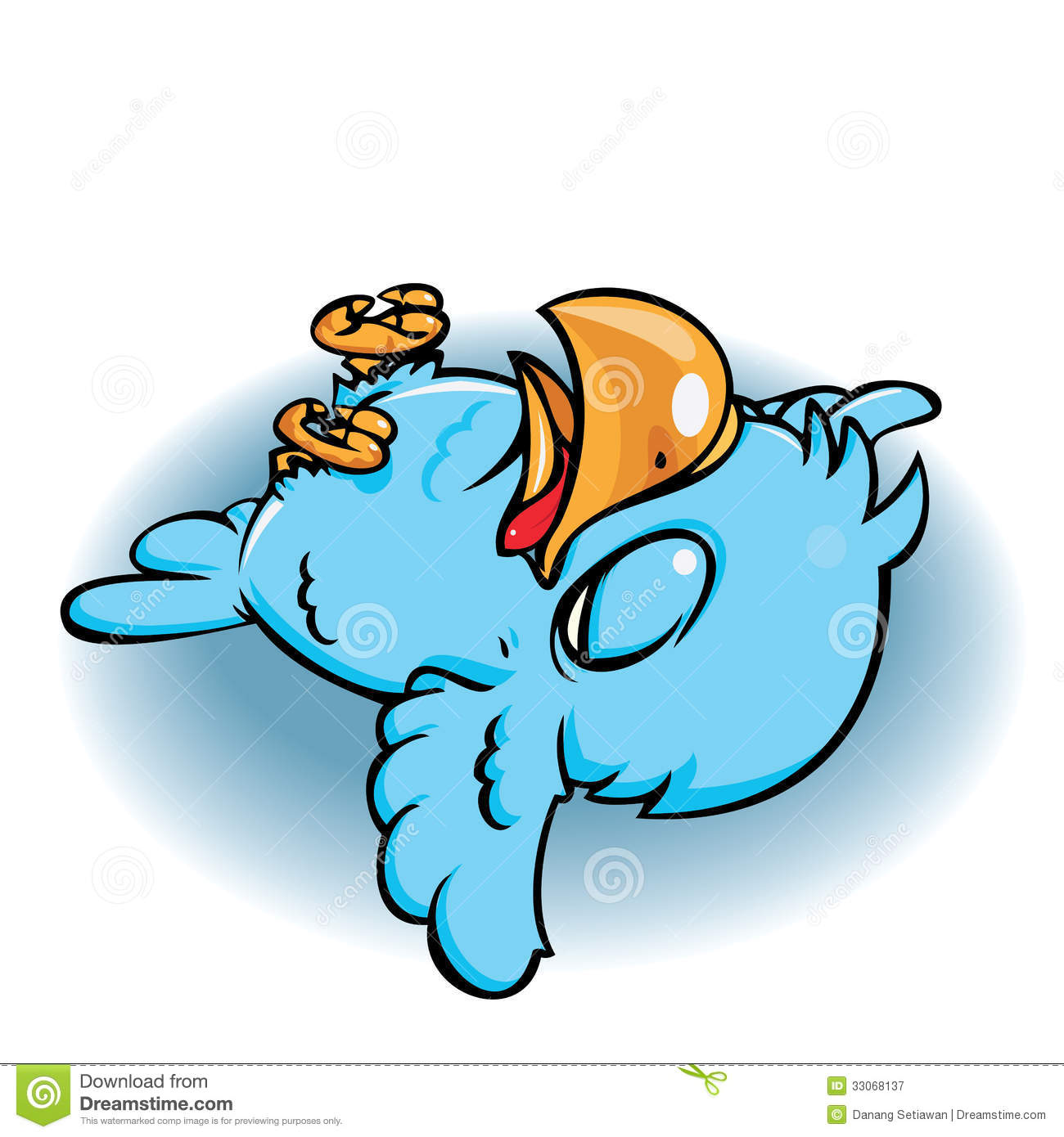 dead blue bird stock vector image of cute  information 33068137 thumbs down emoji clipart thumbs up down side clipart