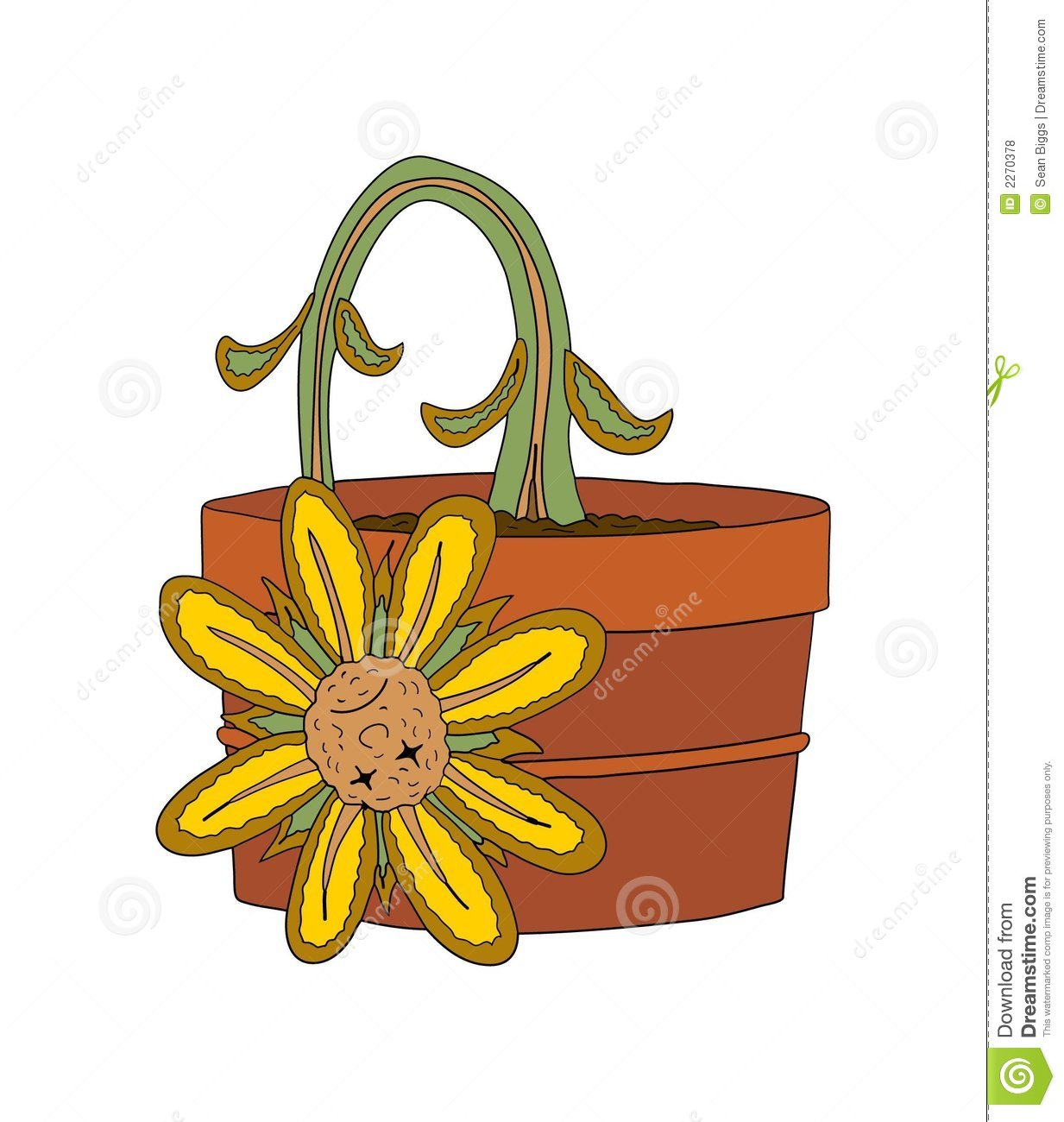 clipart dead flowers - photo #5