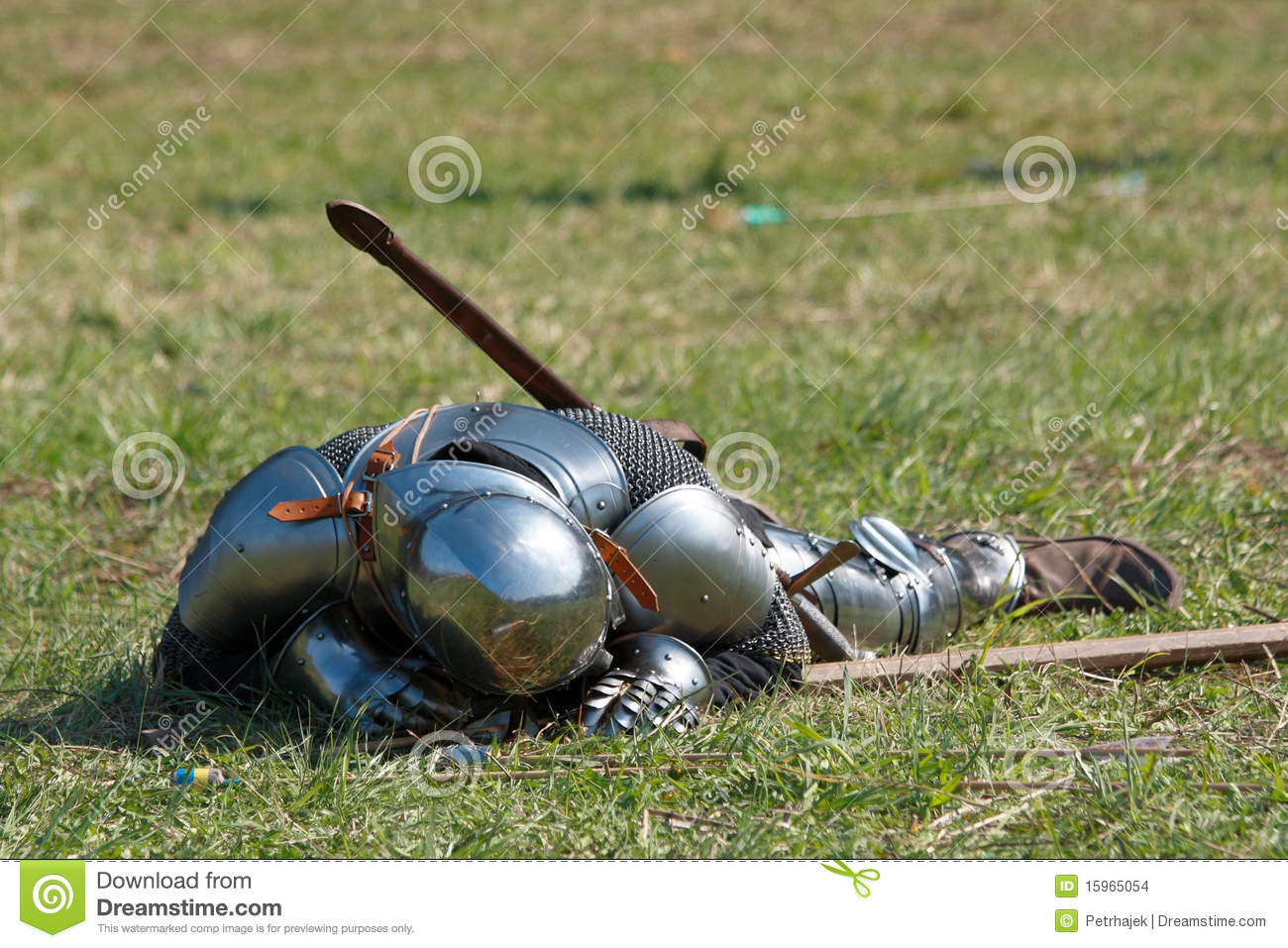 Dead Knight Stock Images Image 15965054