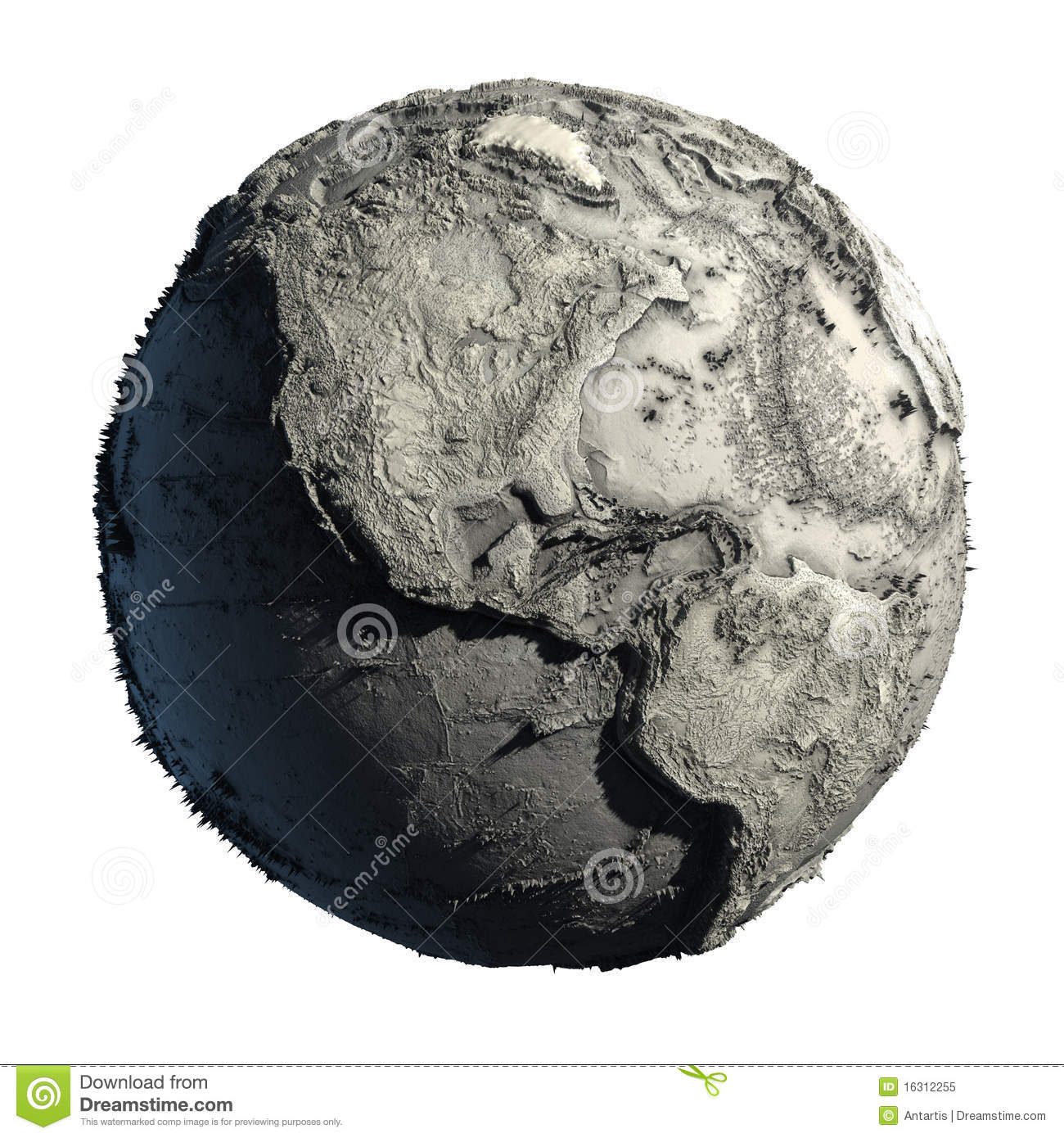 Dead planet earth stock illustration illustration of climate 16312255 royalty free stock photo publicscrutiny Choice Image