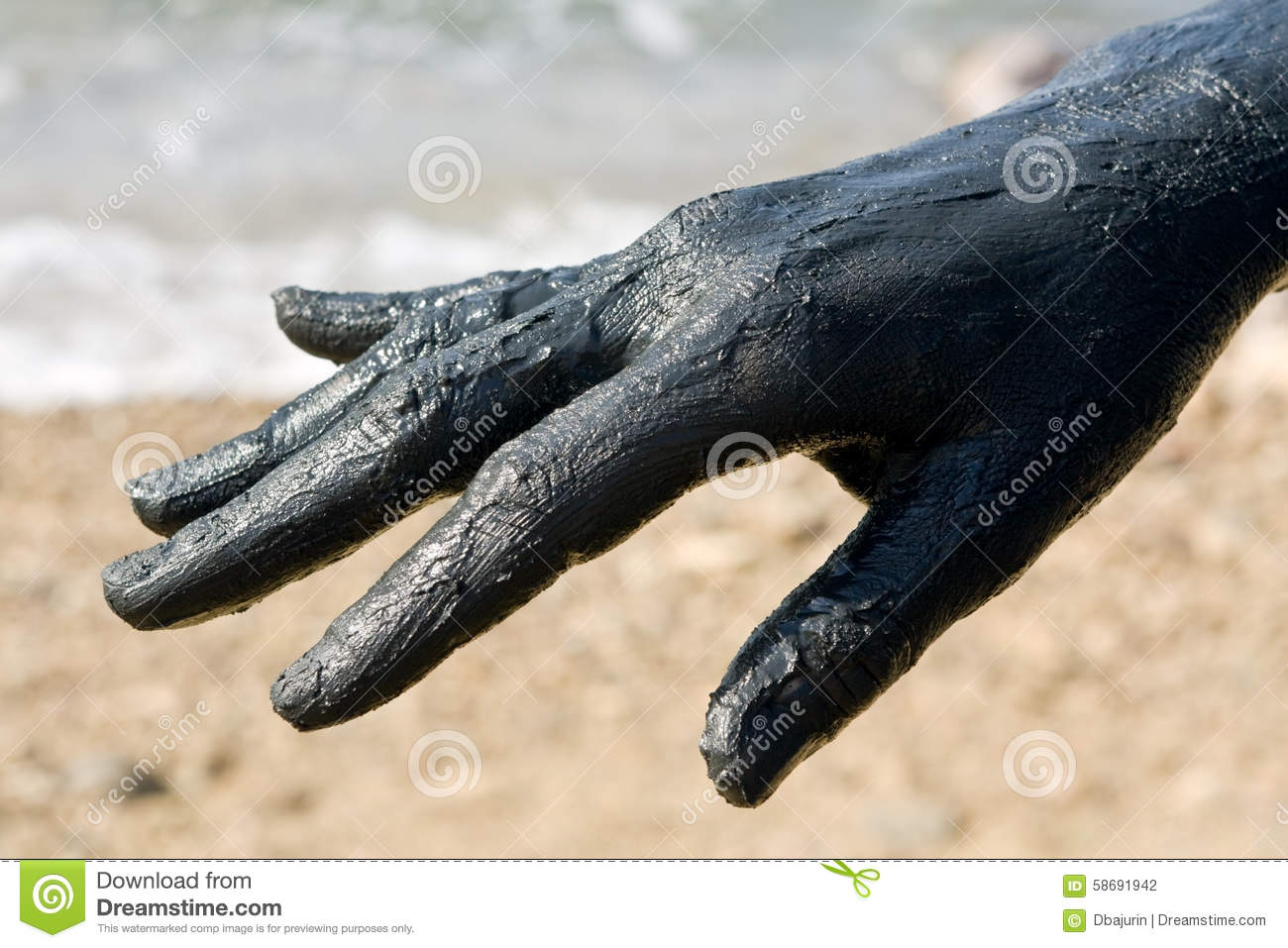 covered in a hand - photo #18