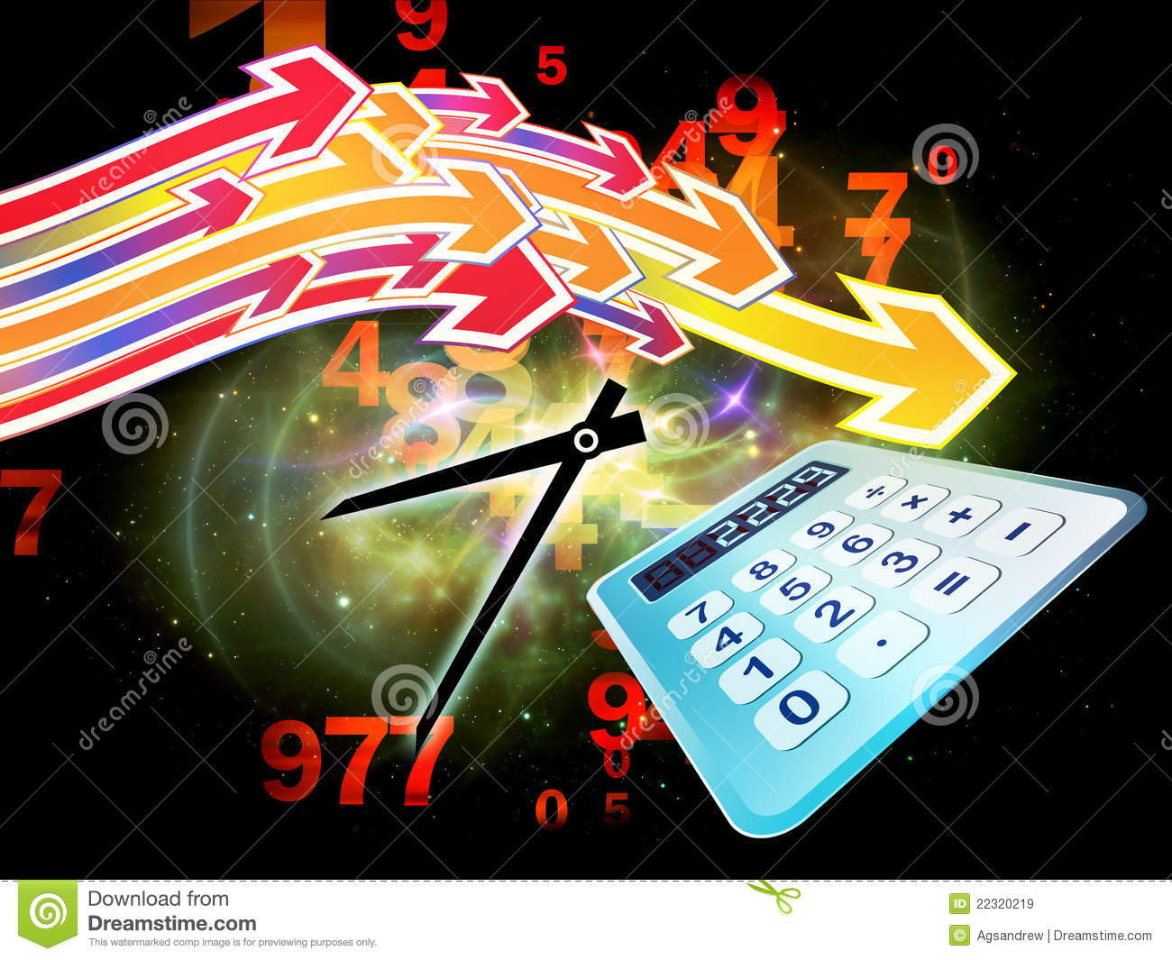 Deadline Calculations Royalty Free Stock Images Image