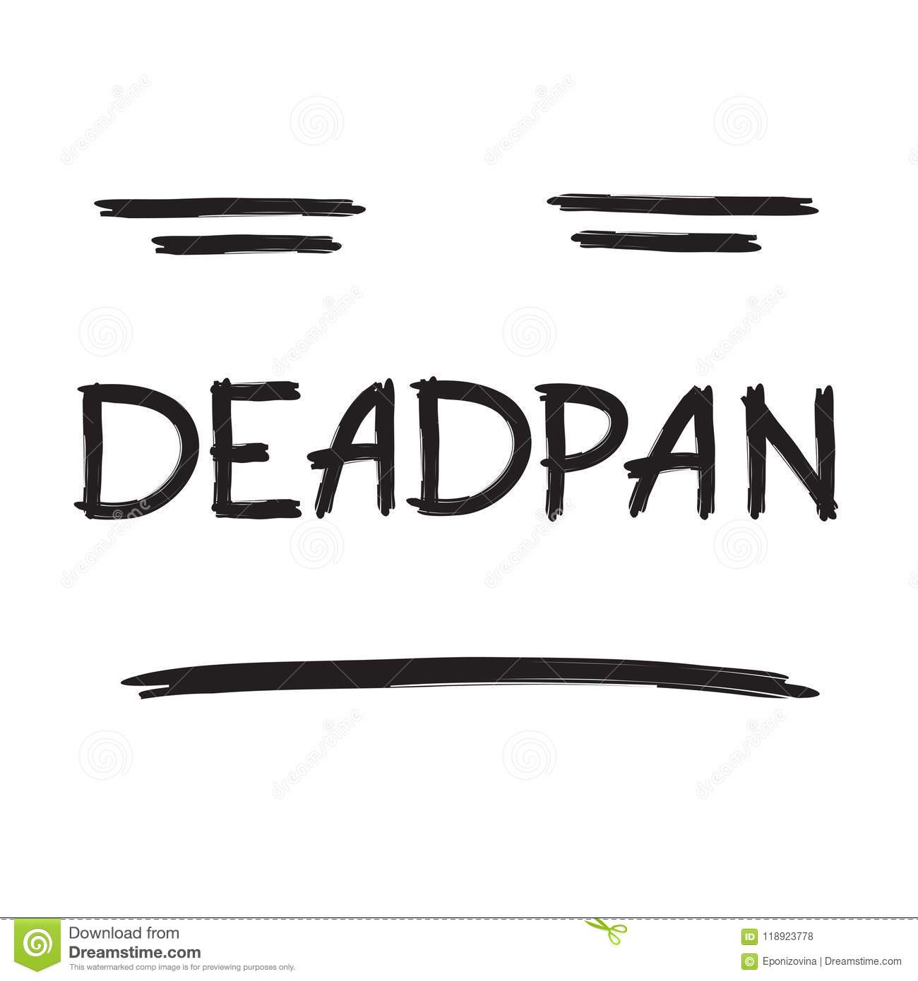 Deadpan Cartoons Illustrations Amp Vector Stock Images 27