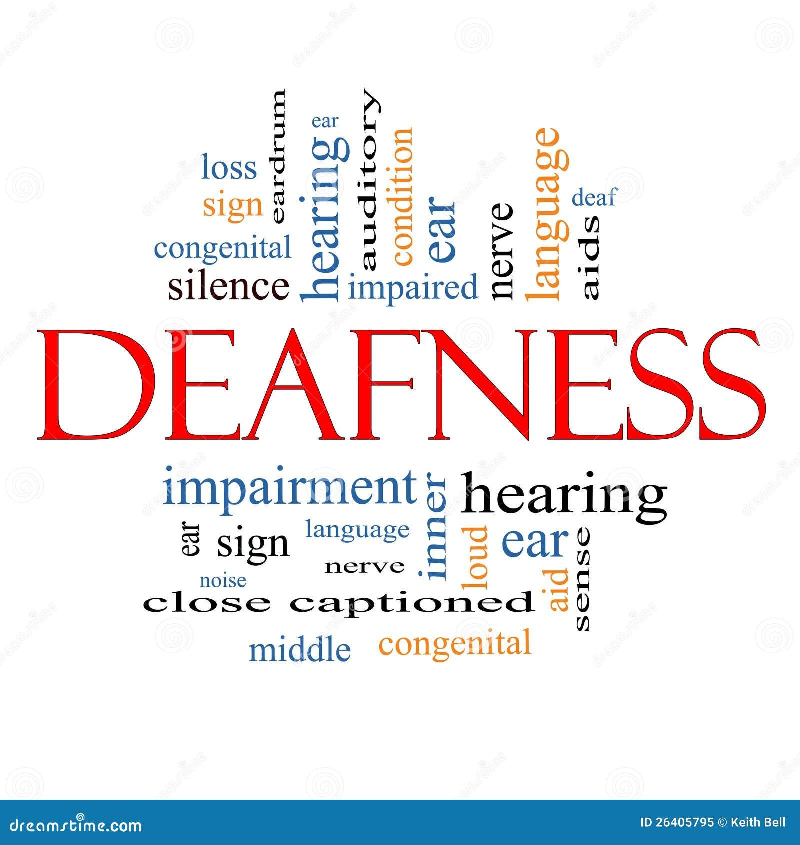 deafness word cloud concept stock illustration ear clipart cl ear background ear clipart cl ear background
