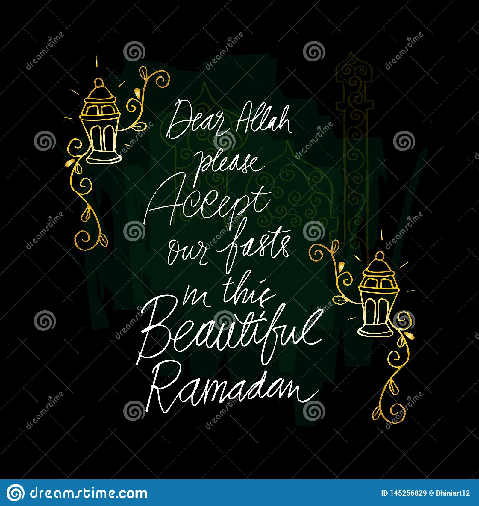 Dear Allah Please Accept Our My Fasts In The Beautiful Ramadan