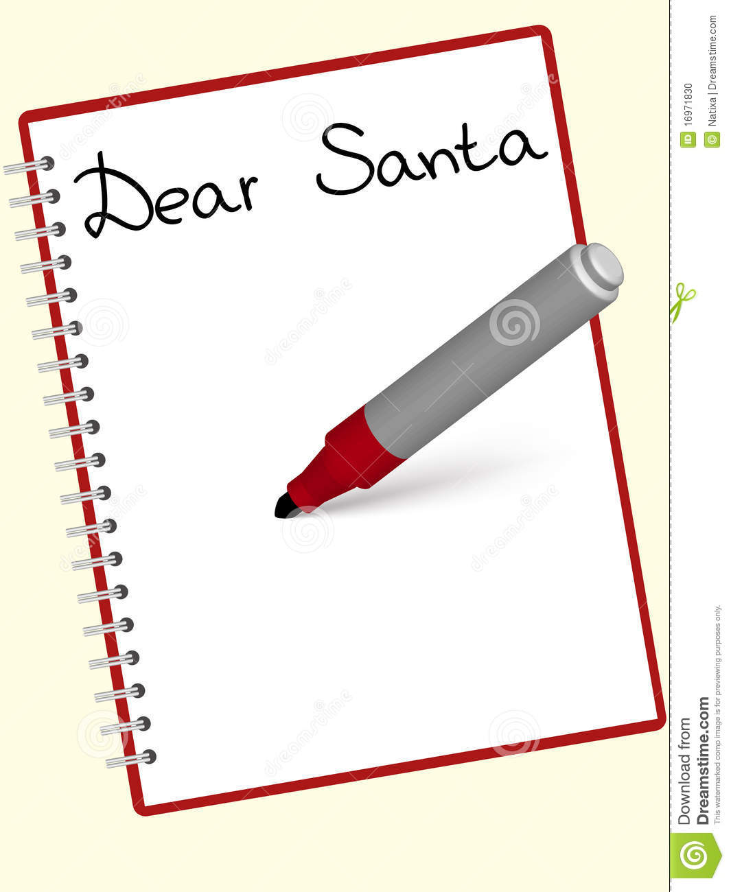 Writing a xmas letter