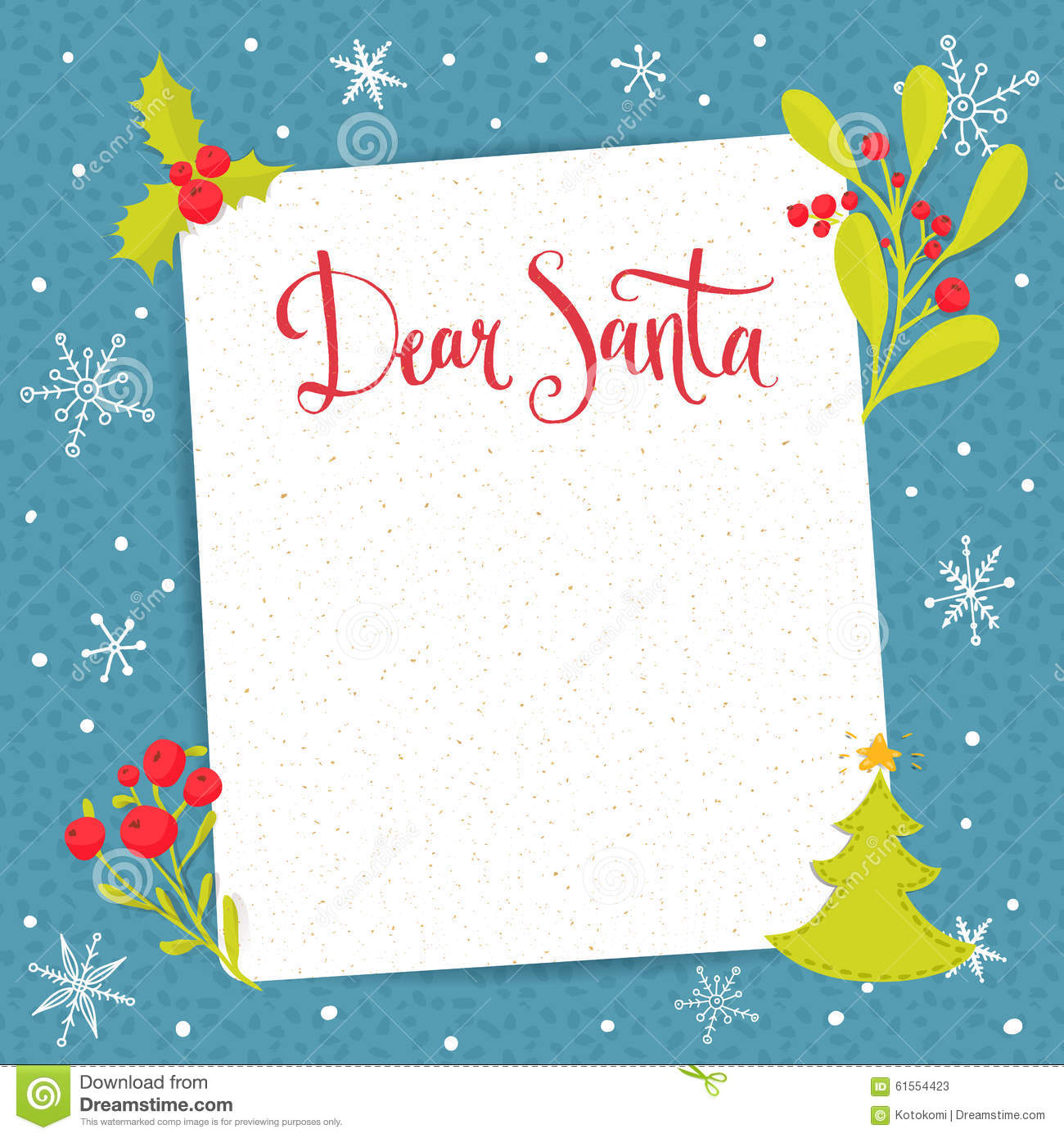 Template Christmas Letter To Santa Claus on free printable template, after christmas,
