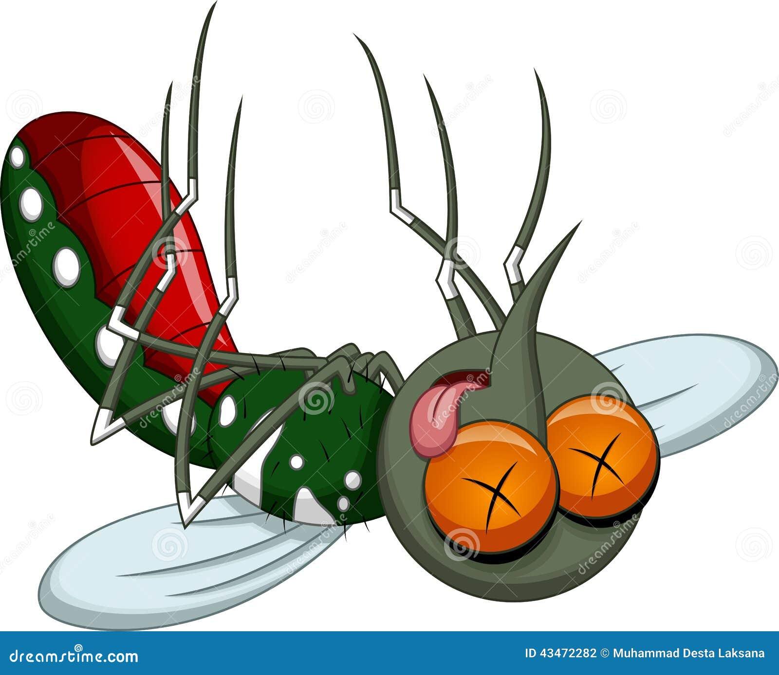 Death Mosquito Cartoon Stock Illustration - Image: 43472282
