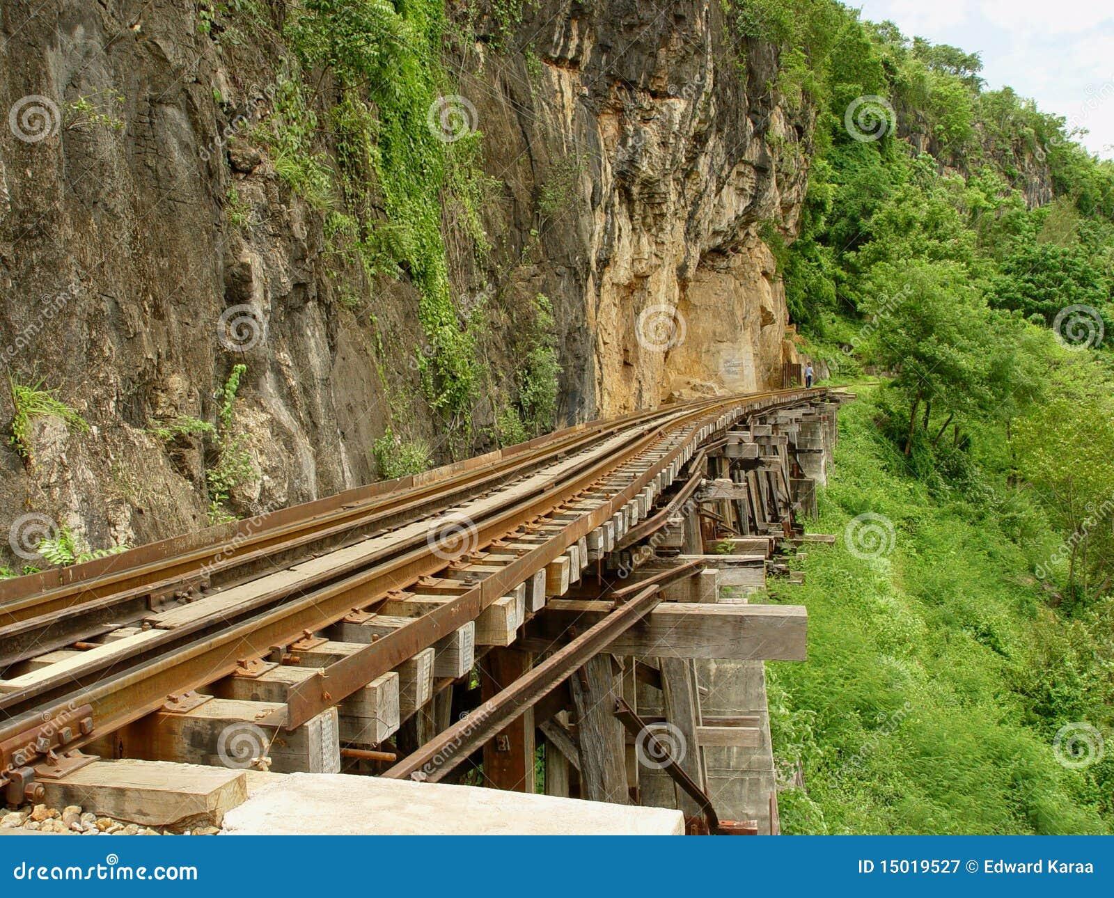 Death Railway near Krasae Cave.