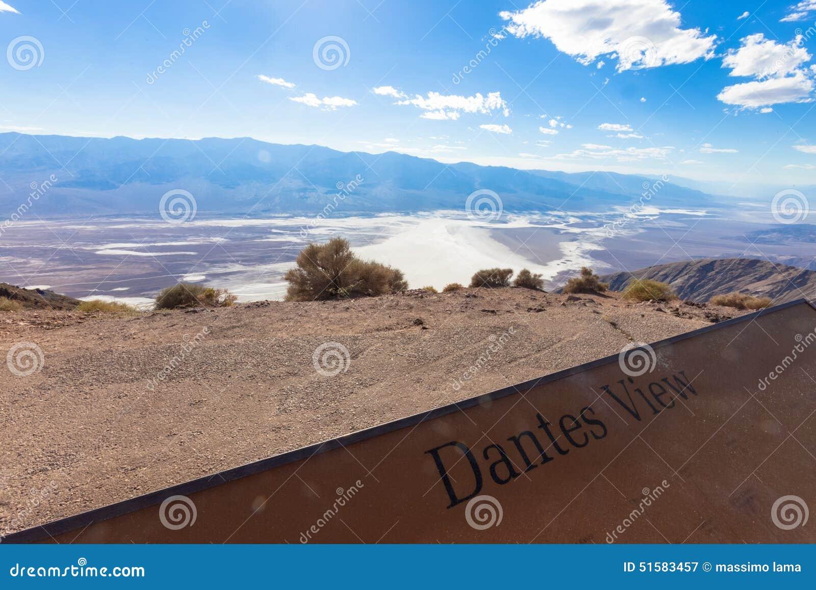 Death Valley, взгляд Dante