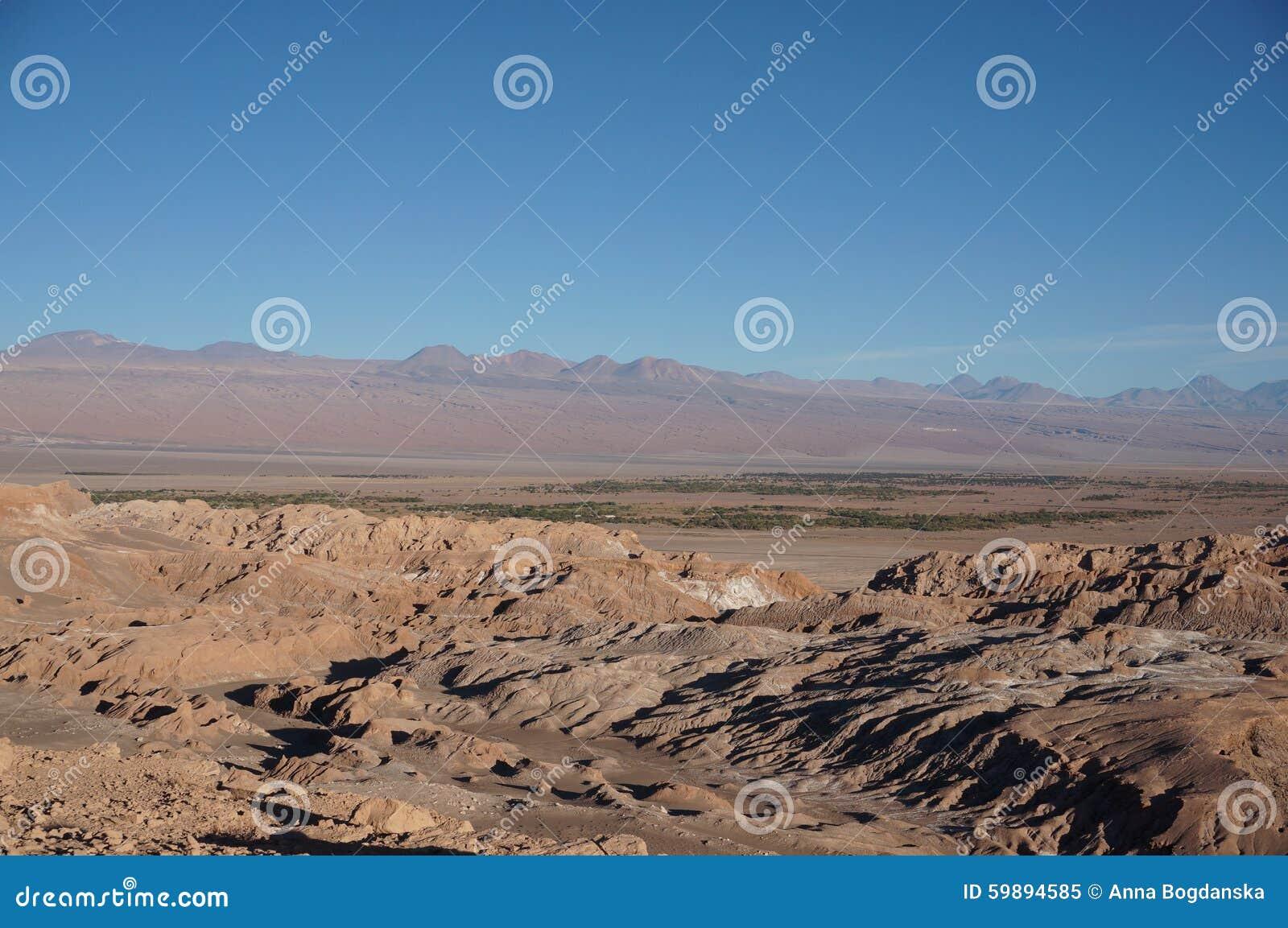 Death Valley Atacama öken, Chile