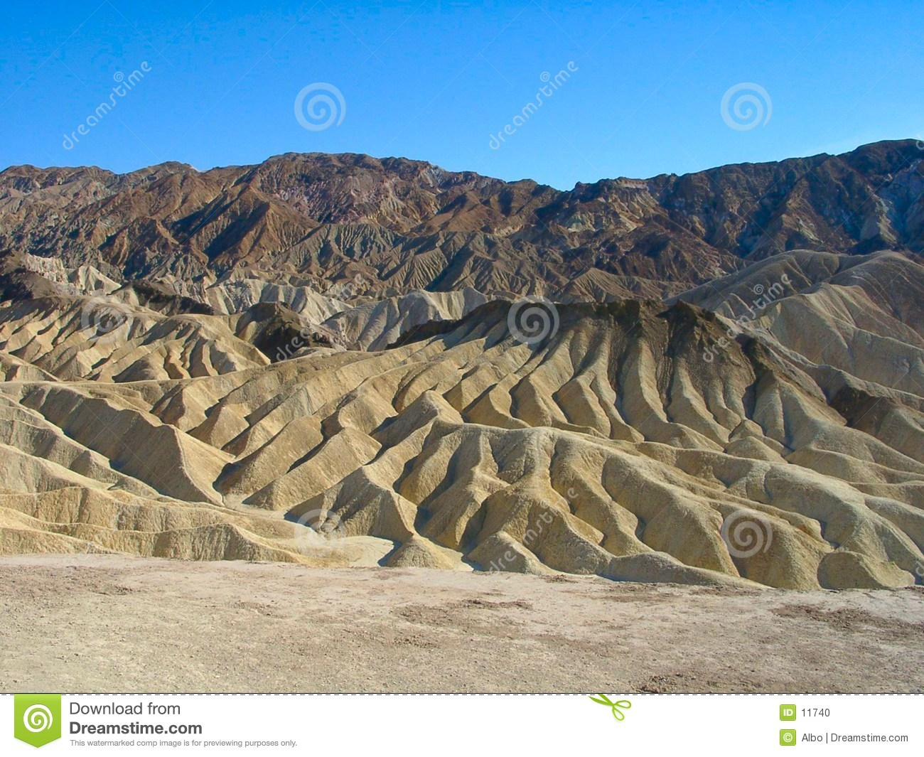 Death Valley : Point de Zabriskie