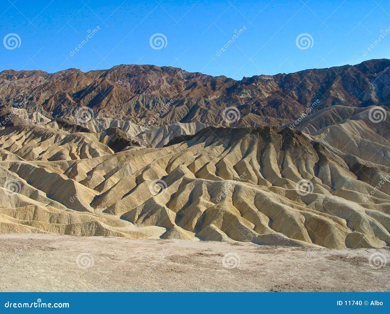 Death Valley: Punta de Zabriskie