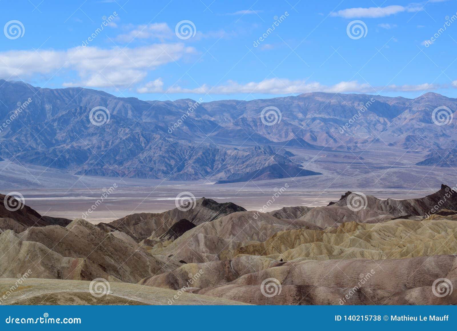 Death Valley - Zabriskie punkt