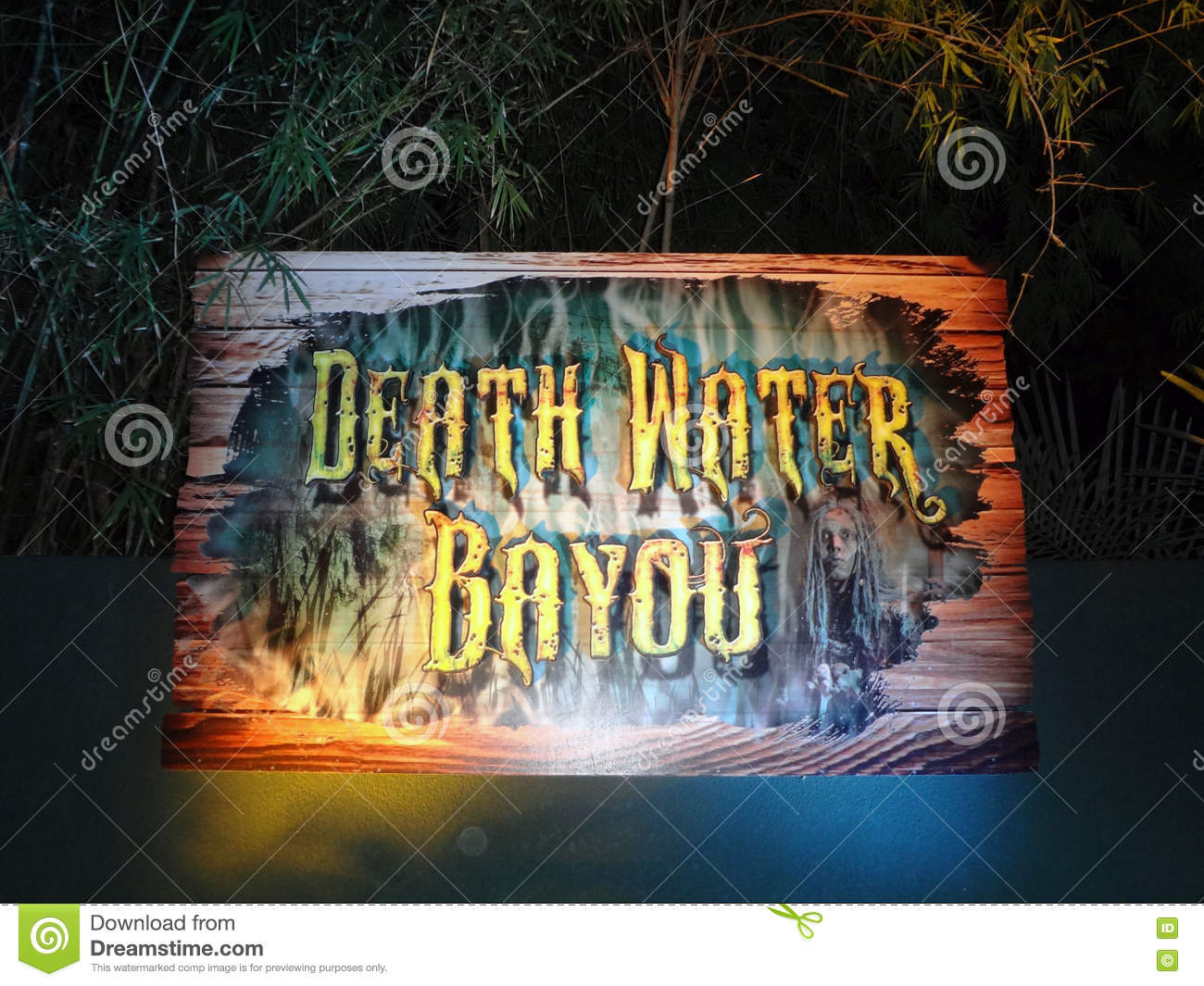 Death Water Bayou Hanted House At Howl O Scream At Busch Gardens