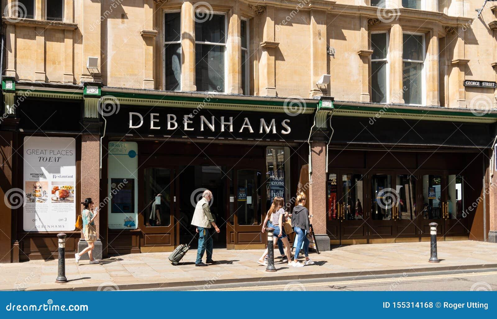 Debenhams sklep Oxford