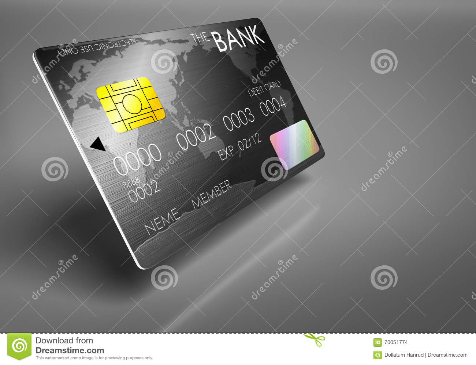 Debit cards luxury.