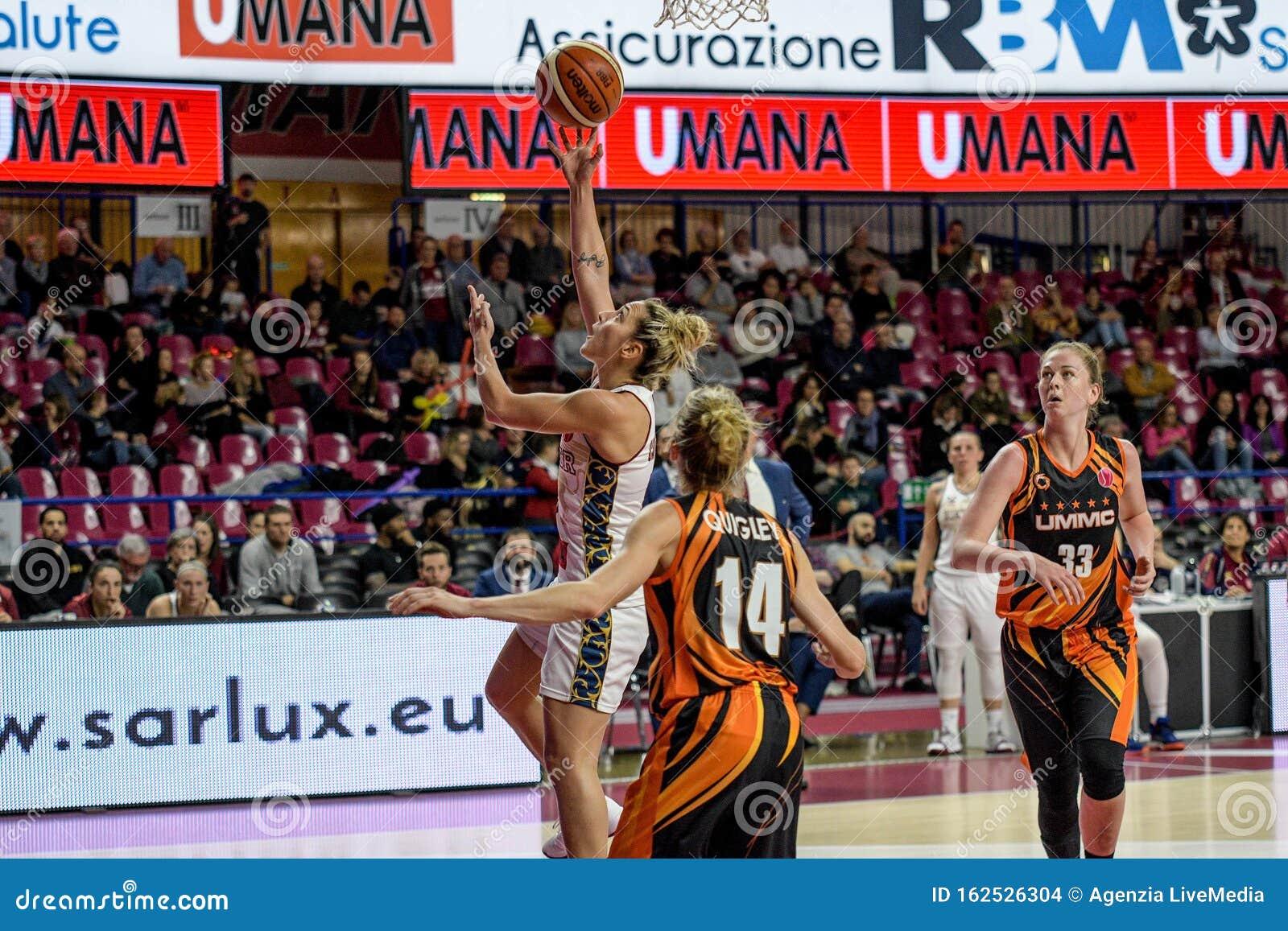 Basketball Euroleague Women Championship Reyer Venezia Vs UMMC ...