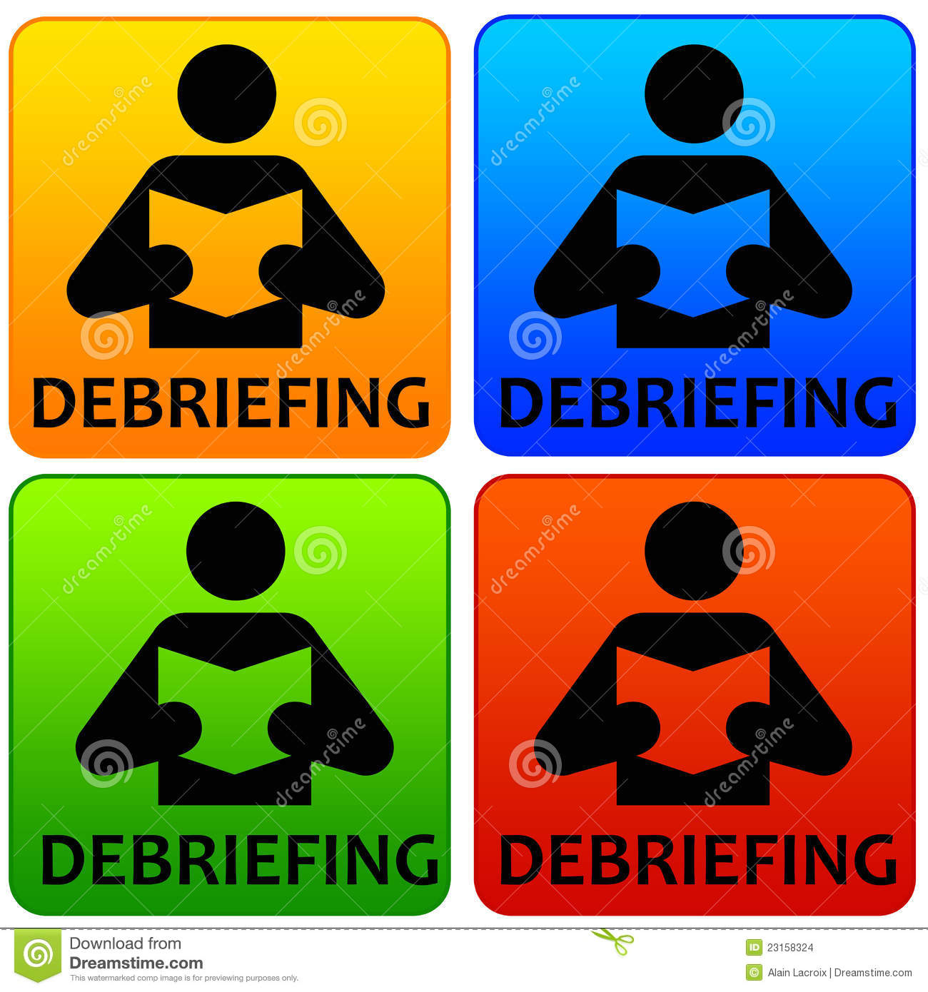 Debriefing Stock Images Image 23158324