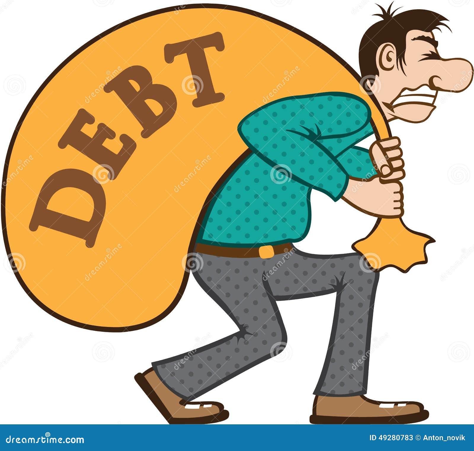debt pressure load struggle stock vector illustration of bill rh dreamstime com eps clip art + for sale eps clip art free download