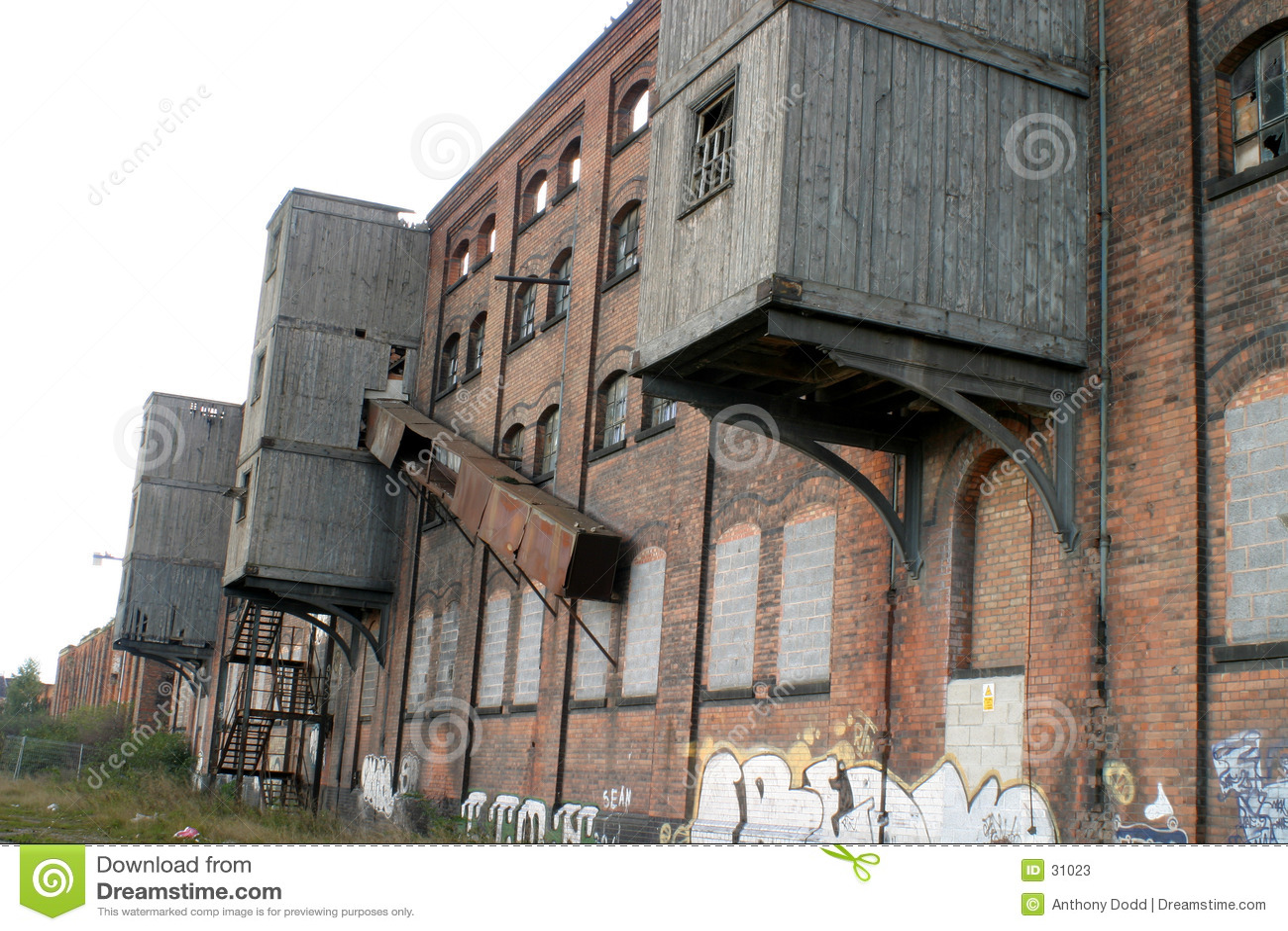 Download Decaimiento industrial imagen de archivo. Imagen de maquinaria - 31023