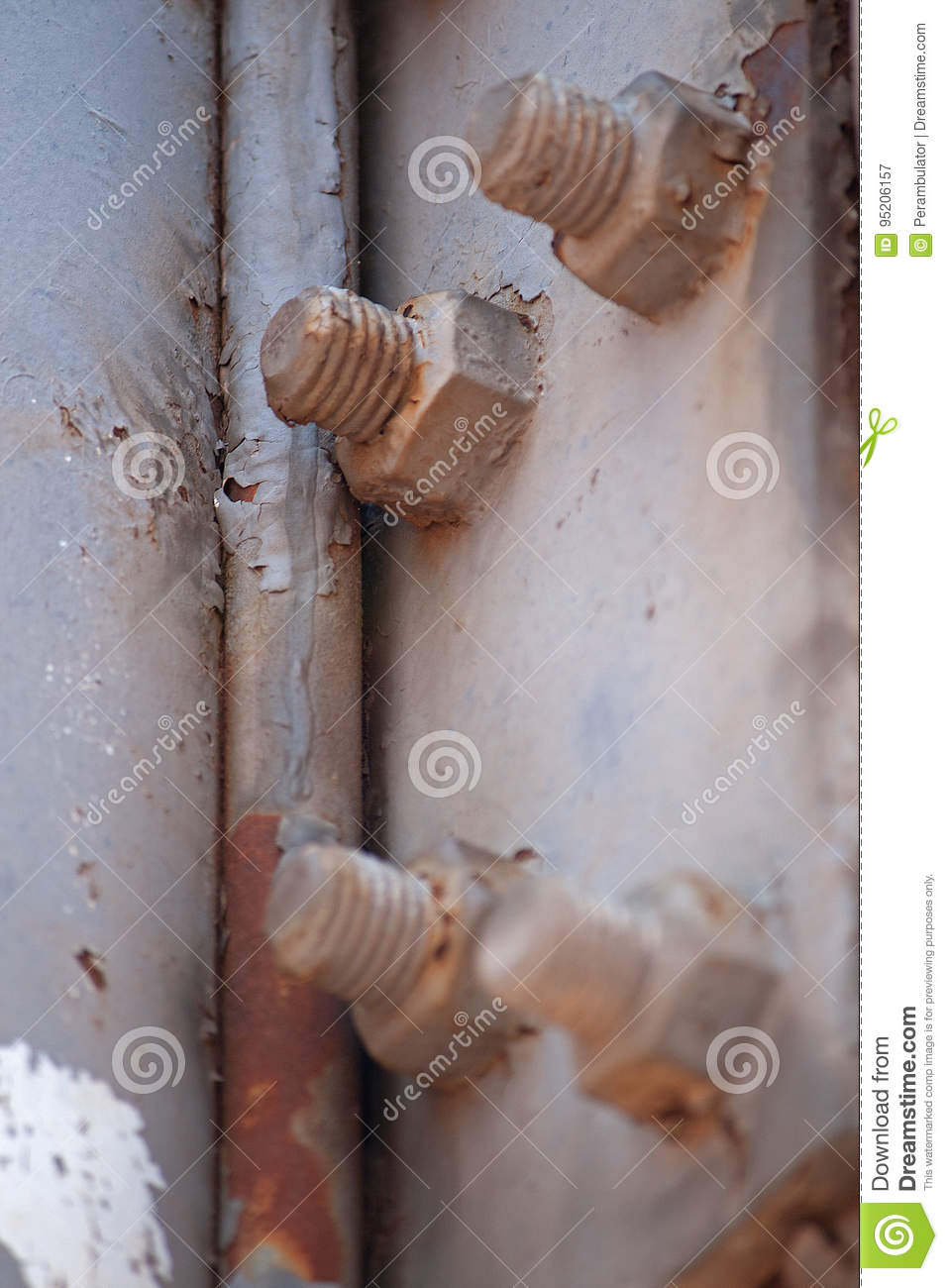 DECAYING BOLTS AND SCREWS
