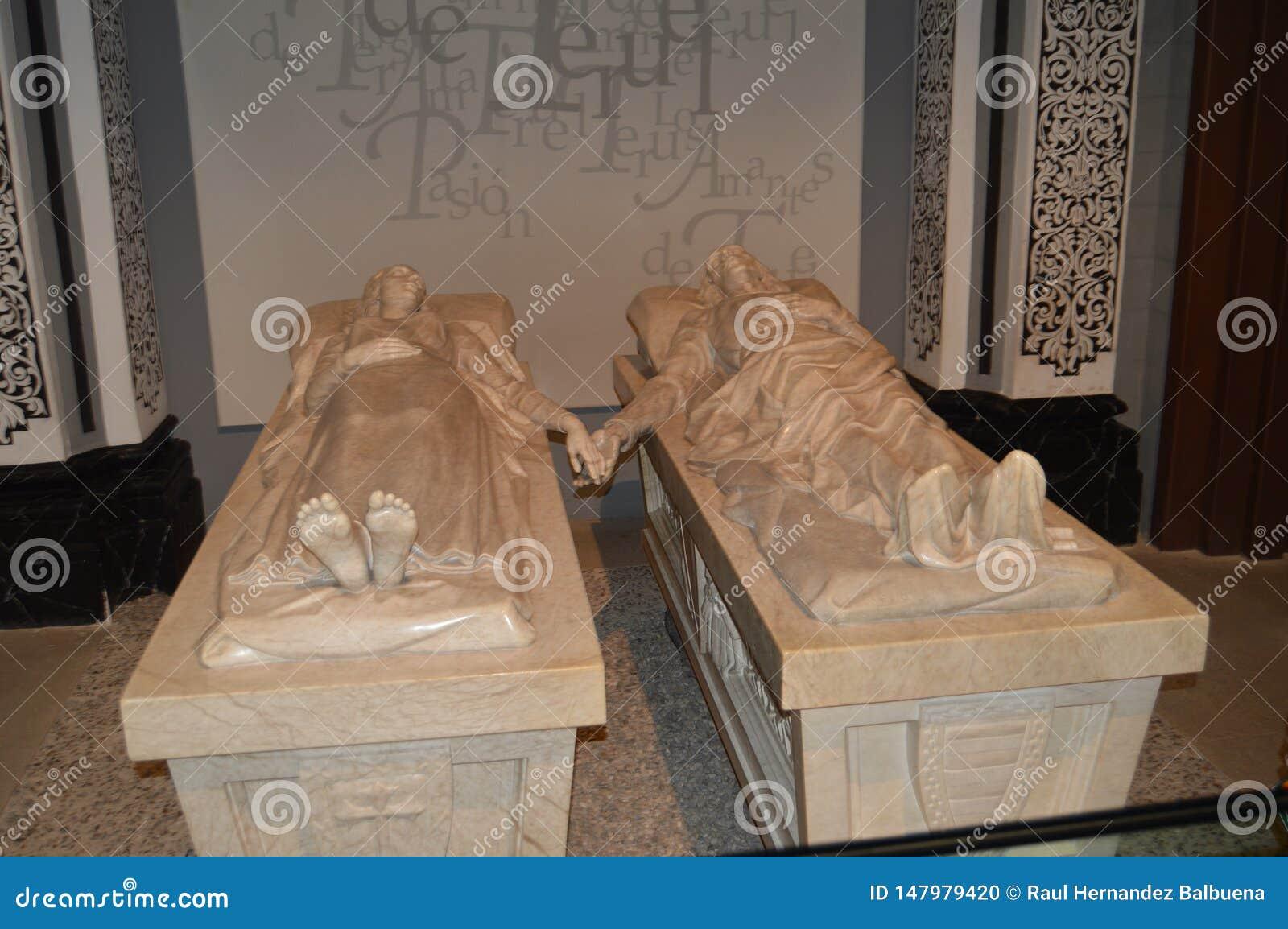 December 26, 2013 Monument till vännerna av Teruel i kyrkan av det San Pedro Dating In The XIV århundradet i Teruel Teruel Aragon