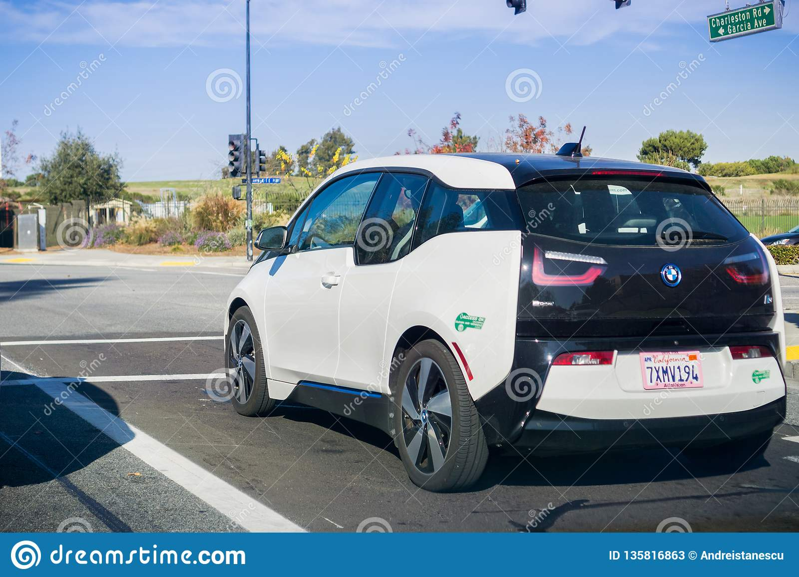 BMW Mountain View >> December 13 2017 Mountain View Ca Usa Bmw I3 Electric
