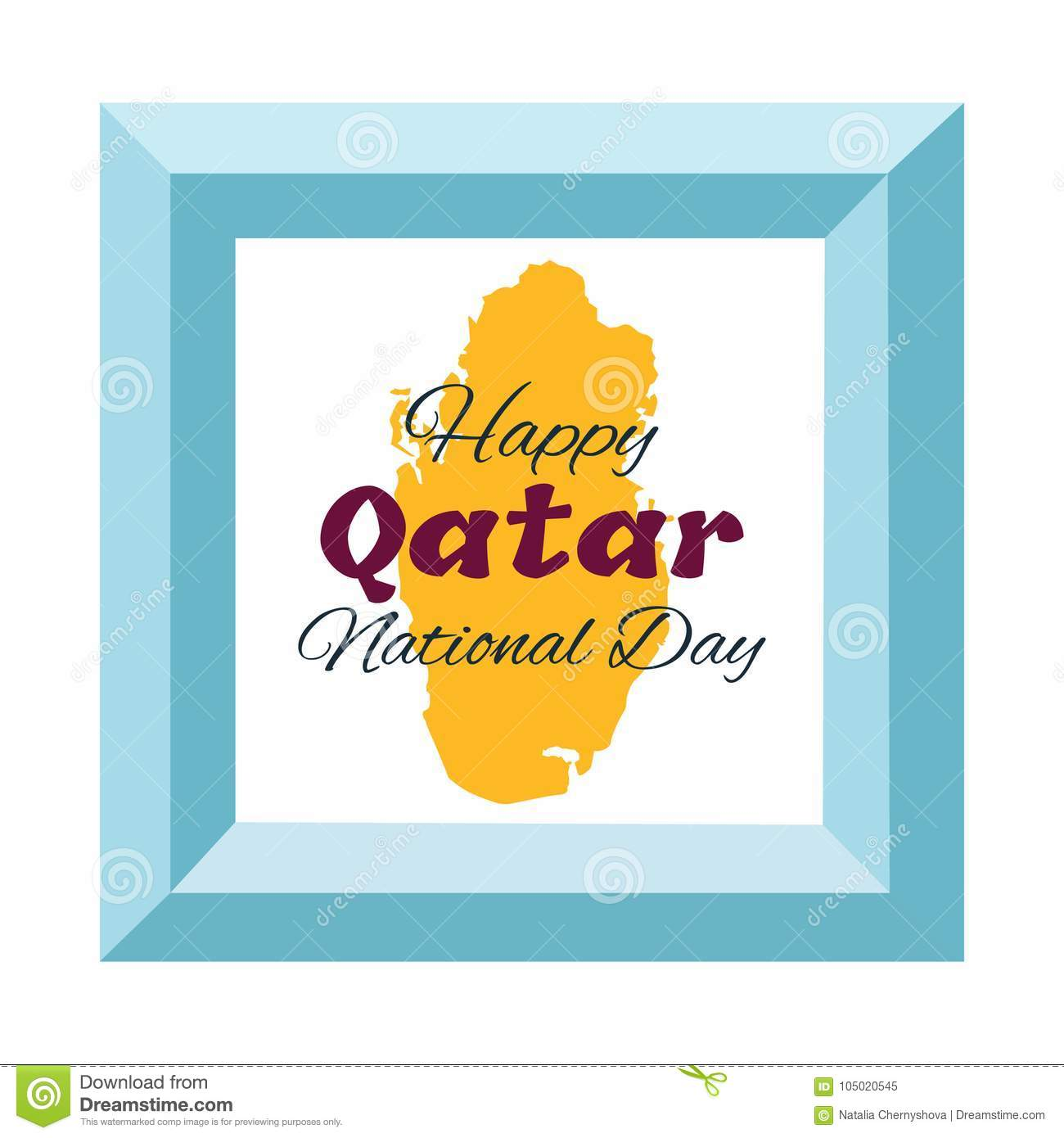 18 december qatar national day card stock vector illustration of qatar national day card stock vector illustration of graphic geographic m4hsunfo