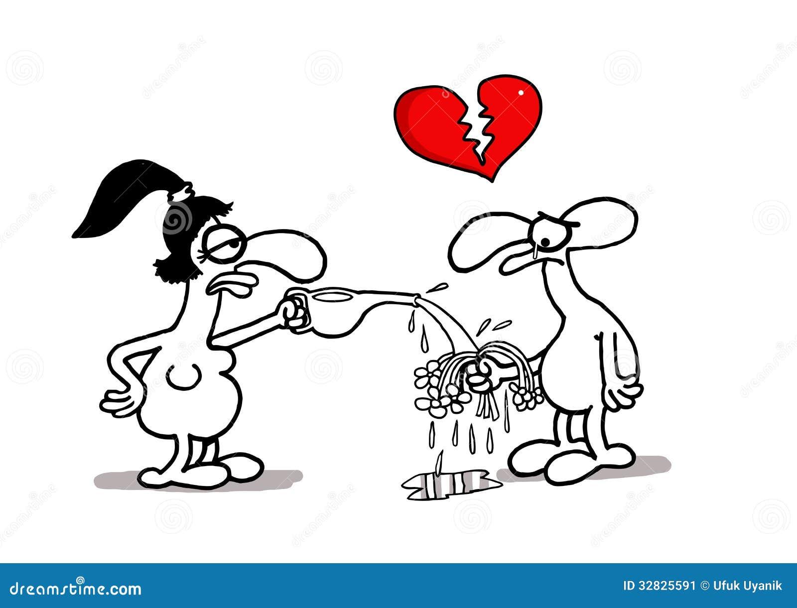 Decepción Del Amor Ilustración Del Vector Ilustración De Regalo