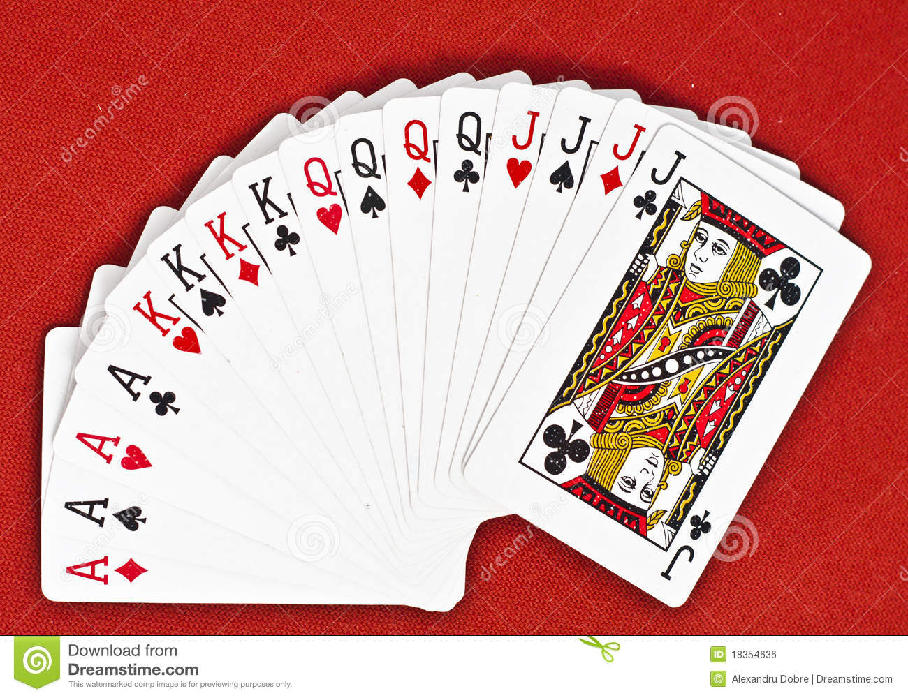Deck Of Cards Royalty ...