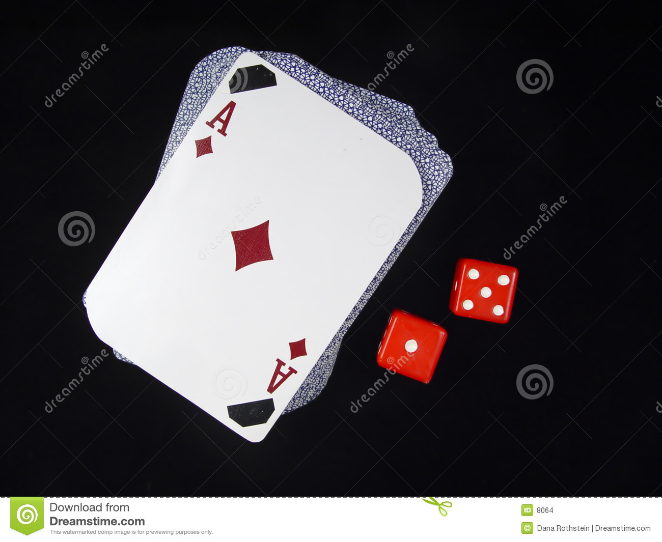 Deck of Cards and Dice