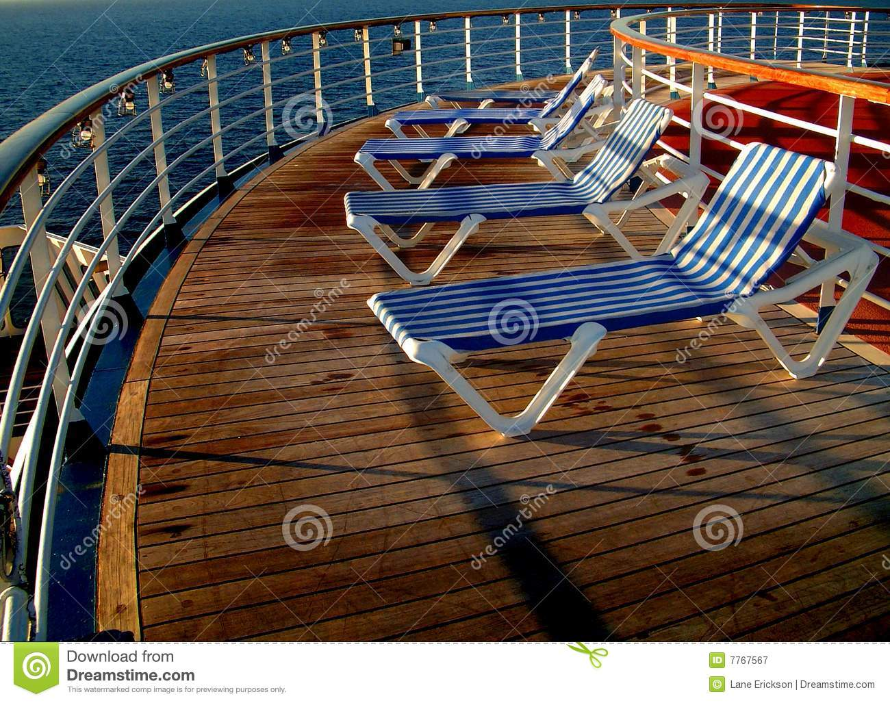Deck chairs royalty free stock photography image 7767567