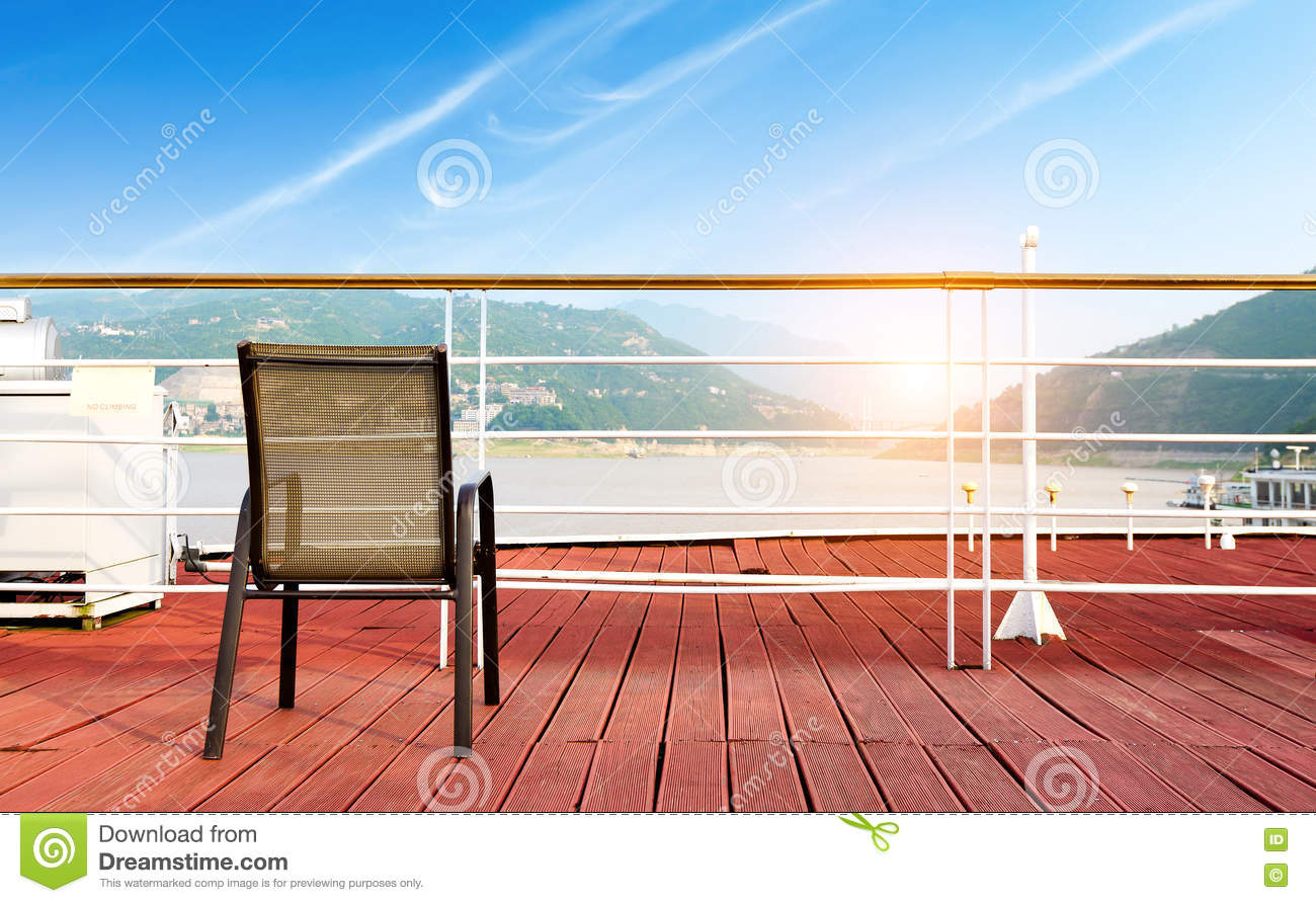 Download Deck chairs stock image. Image of bridge, sand, pier - 76729935