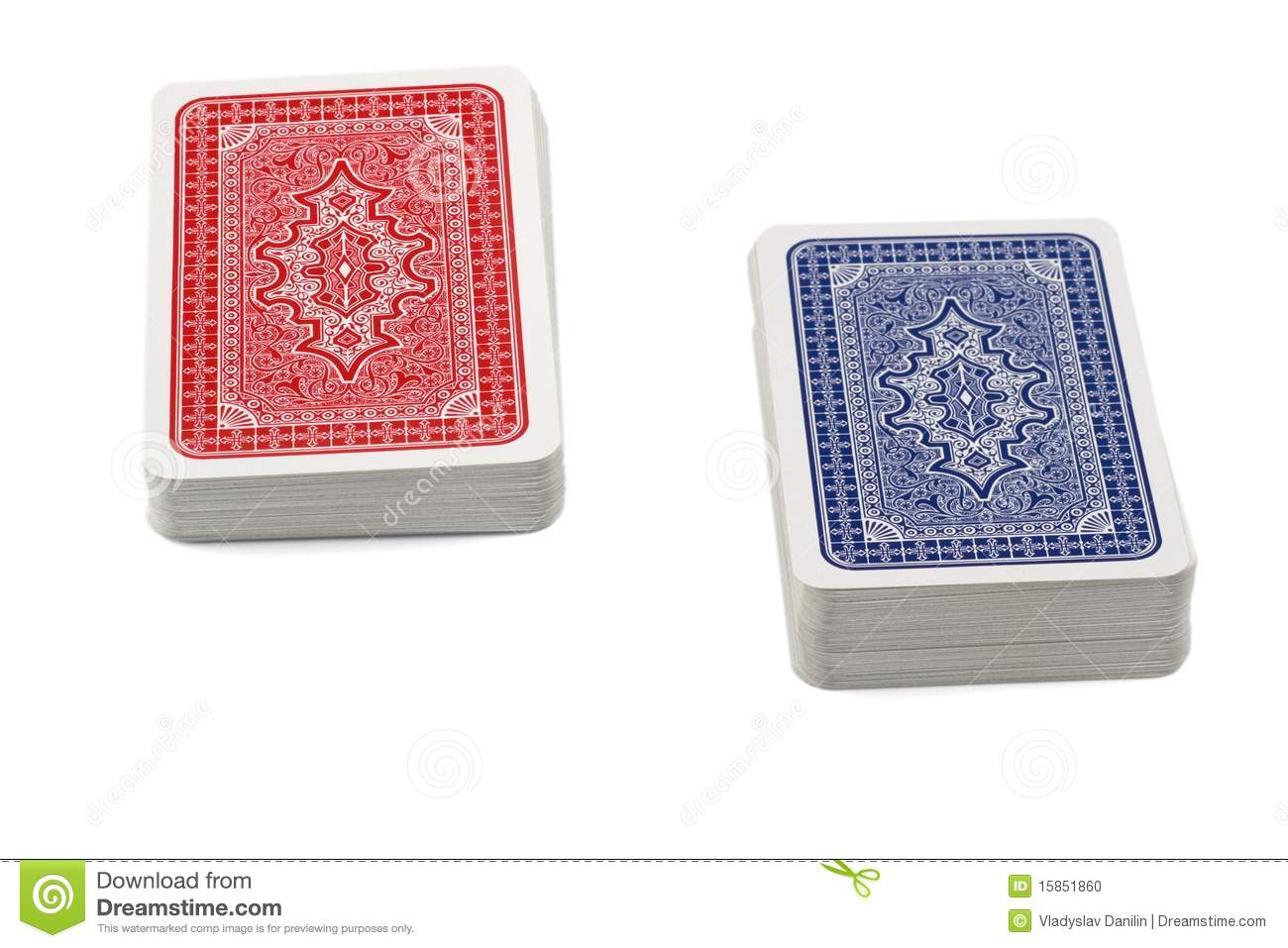 Deck Of Playing Cards Stock Photo - Image: 15851860