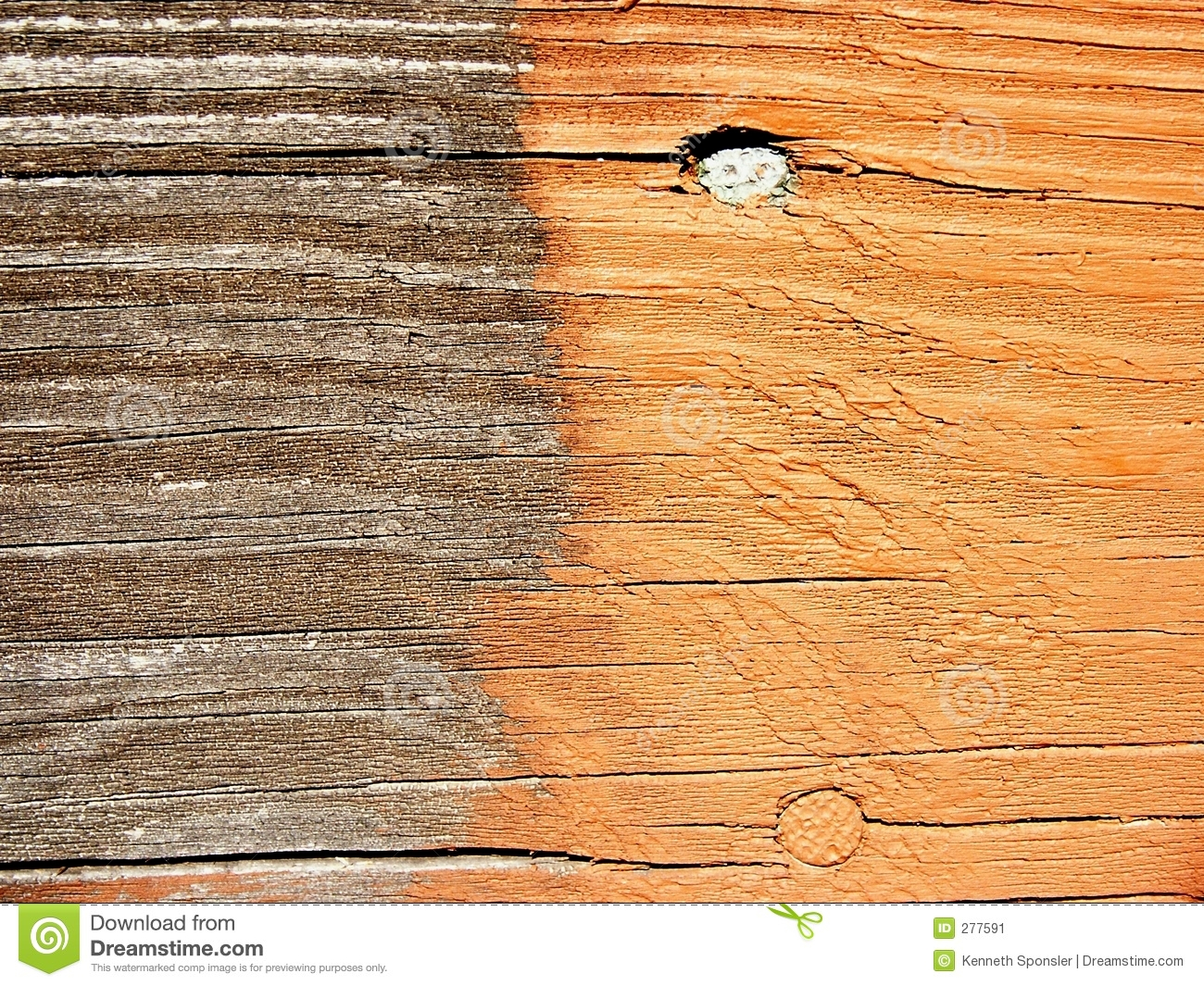 deck stain before after stock image image 277591
