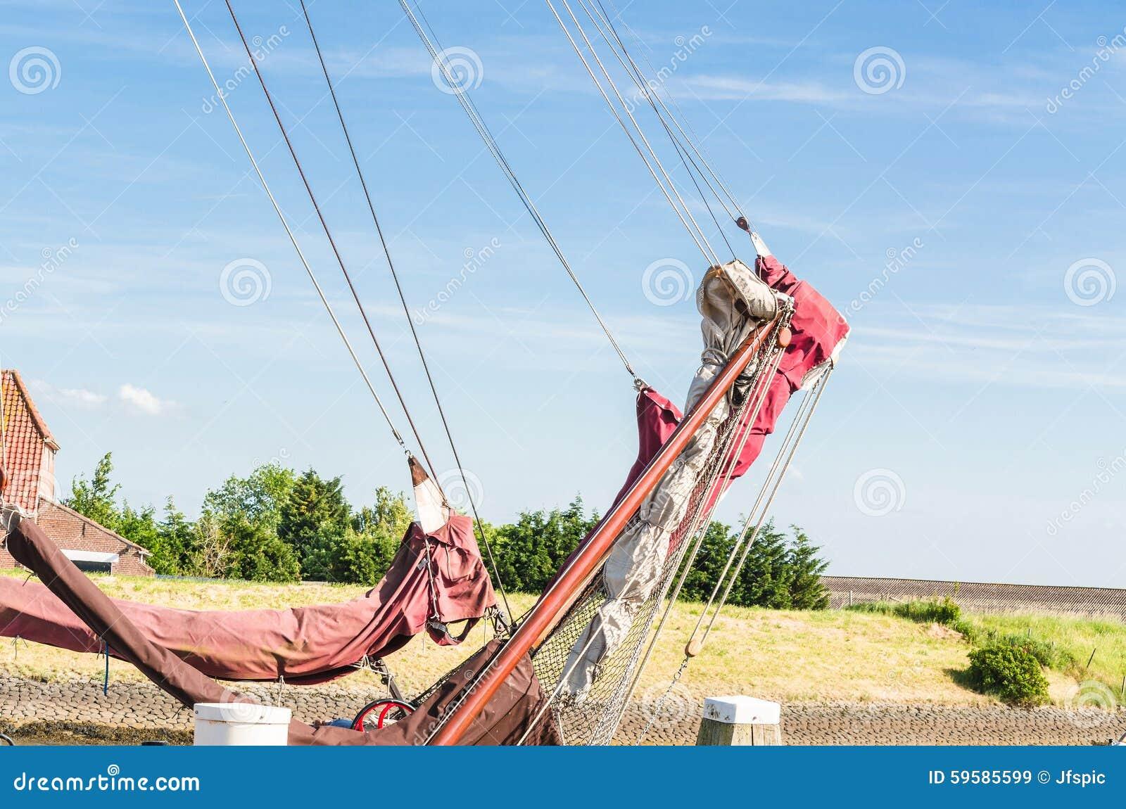 ship s rail of an ...