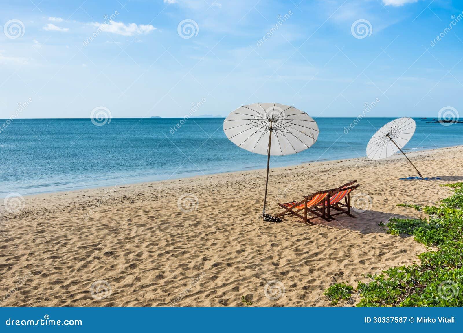 enslig i strand