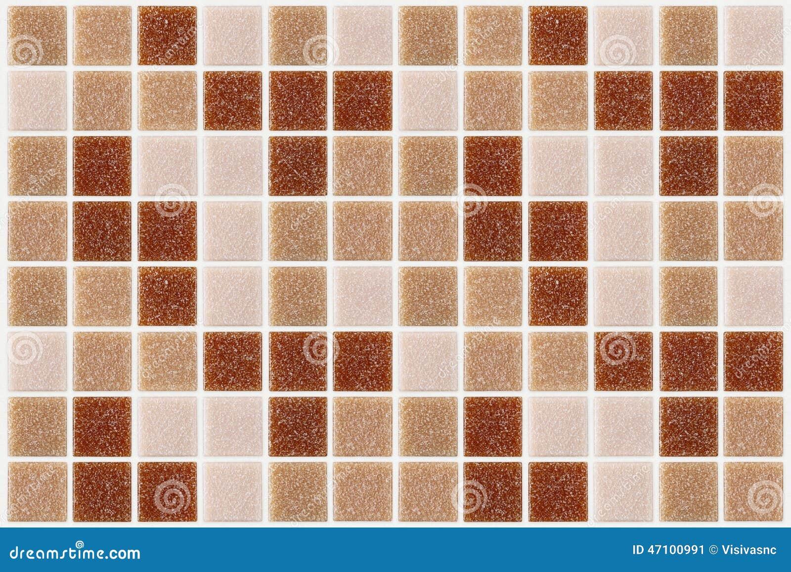 Decken Sie das Mosaikquadrat mit ziegeln, das mit rotem rosa backg Beschaffenheit des Funkelns verziert wird