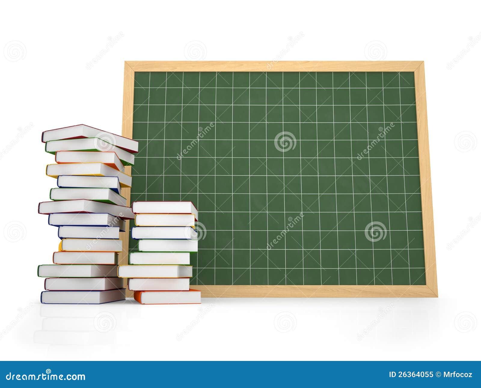 Decken Sie Tafel mit Buch ab