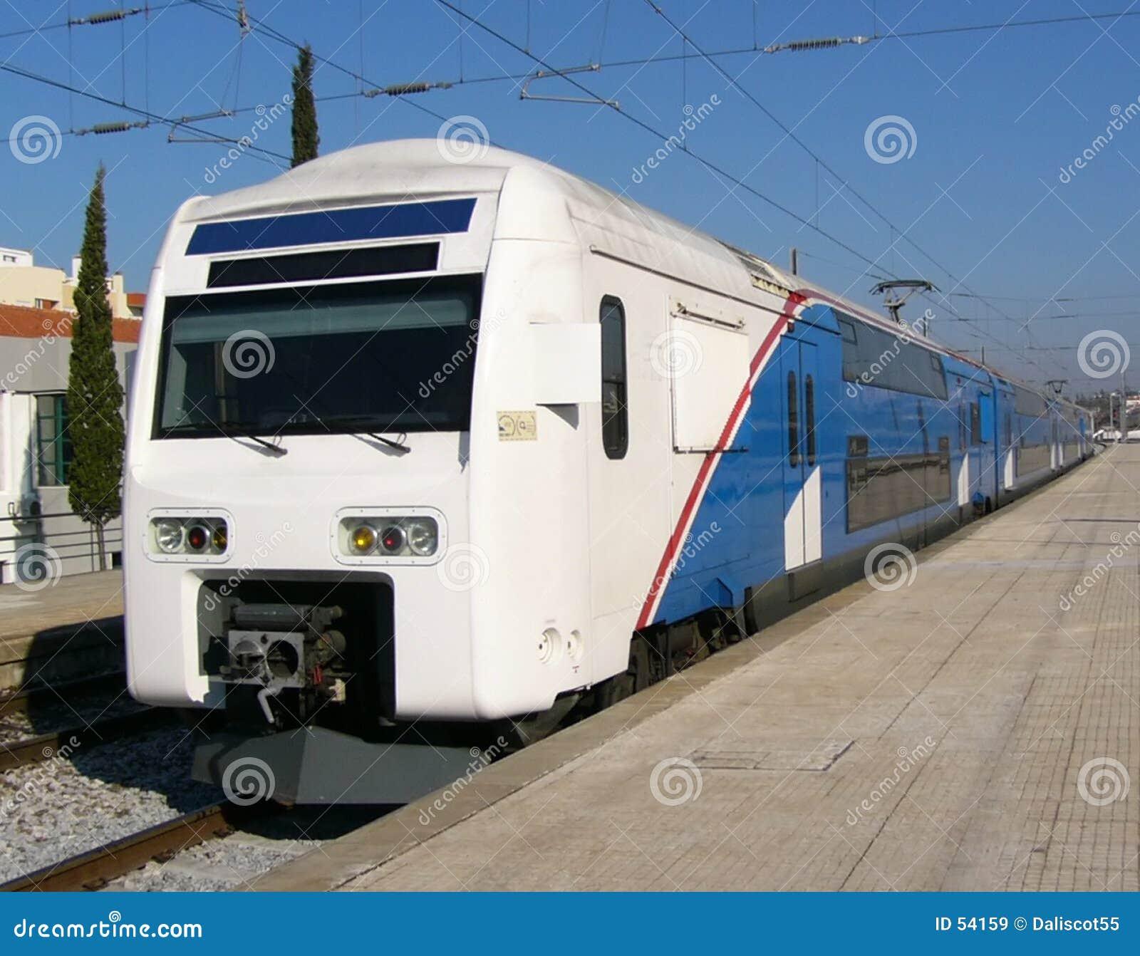 Decker kopii pociąg