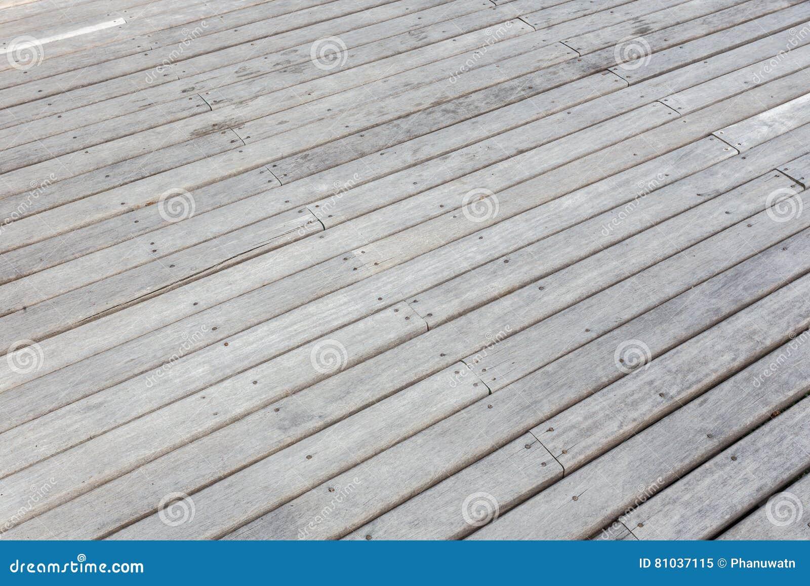 decking o suelo de madera exterior viejo en la terraza