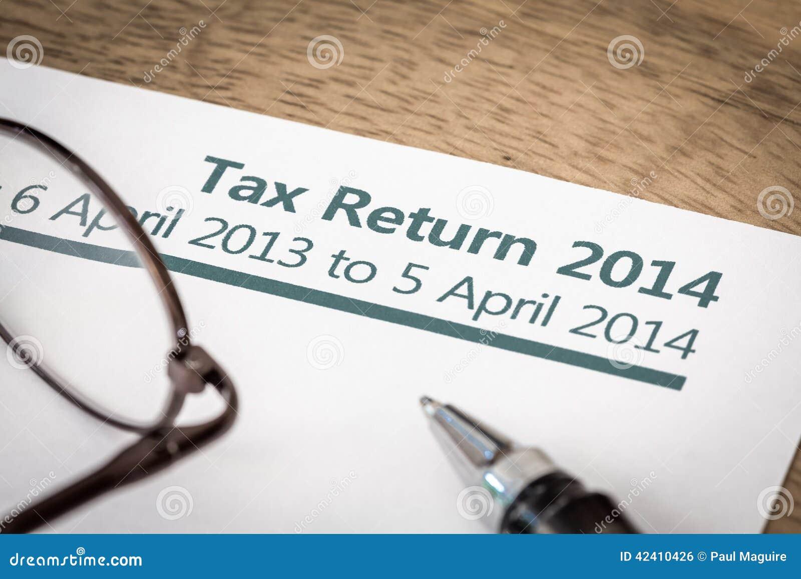 Declaração de rendimentos 2014