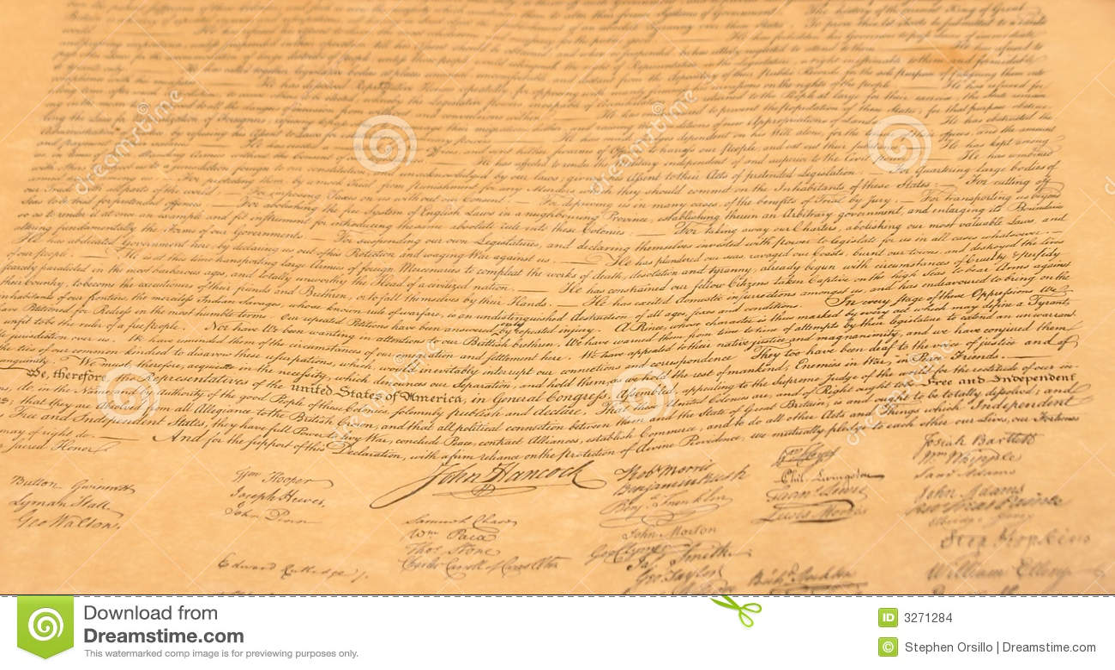 Declaration Background Stock Images - Image: 3271284