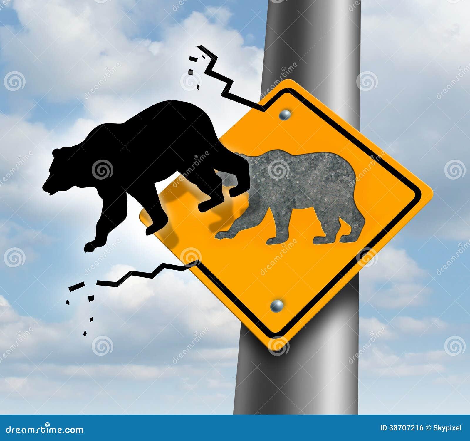 Declino del mercato di orso