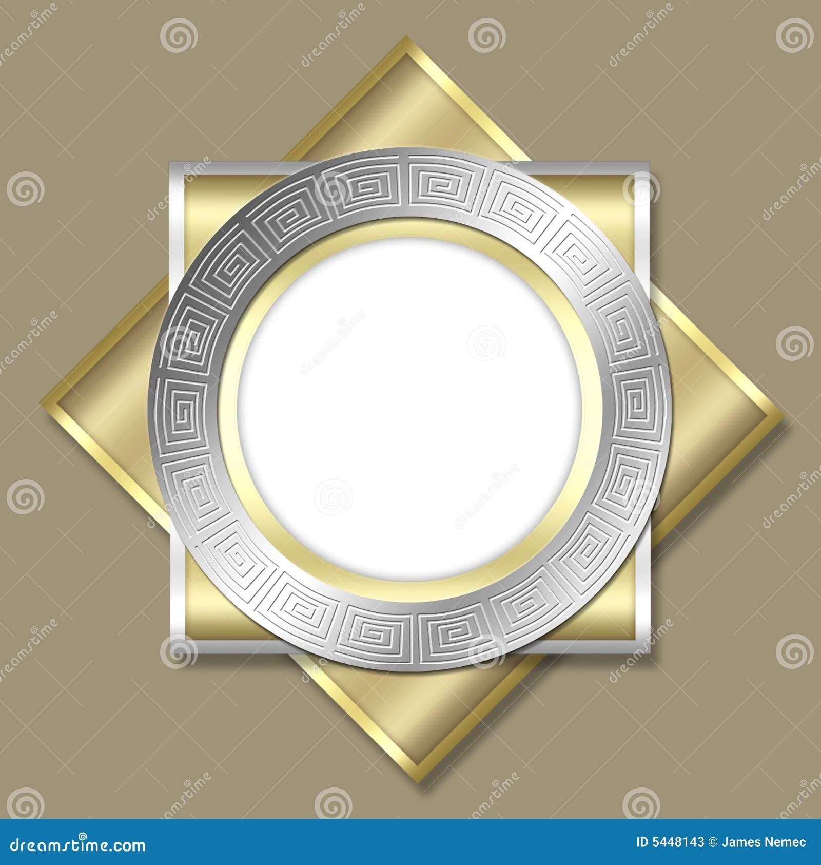 Deco frame & tile design