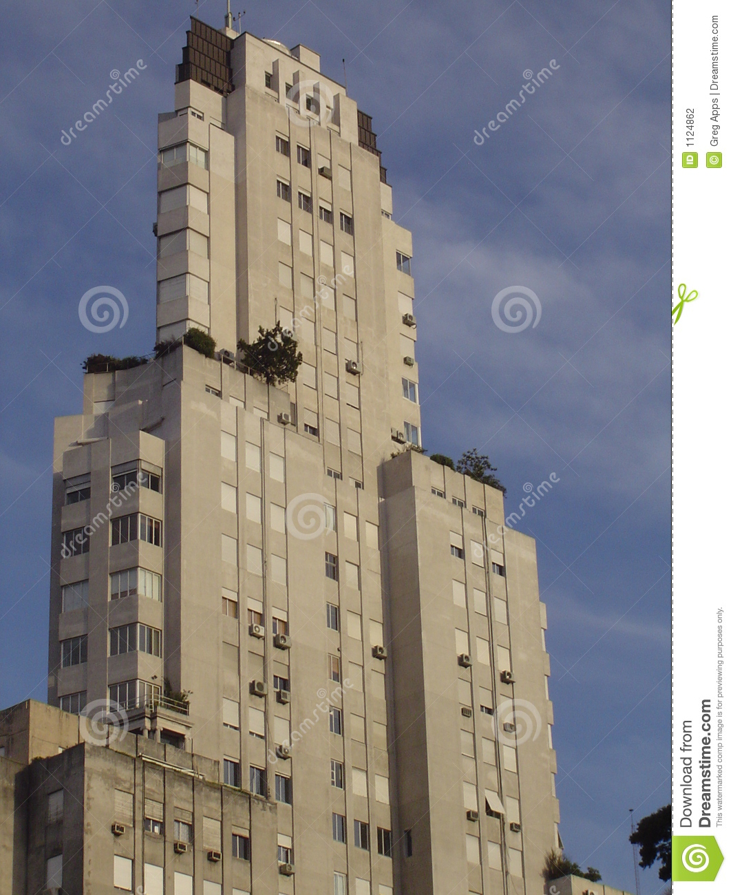 Deco monolith stock photography image 1124862 for Art deco hotel buenos aires